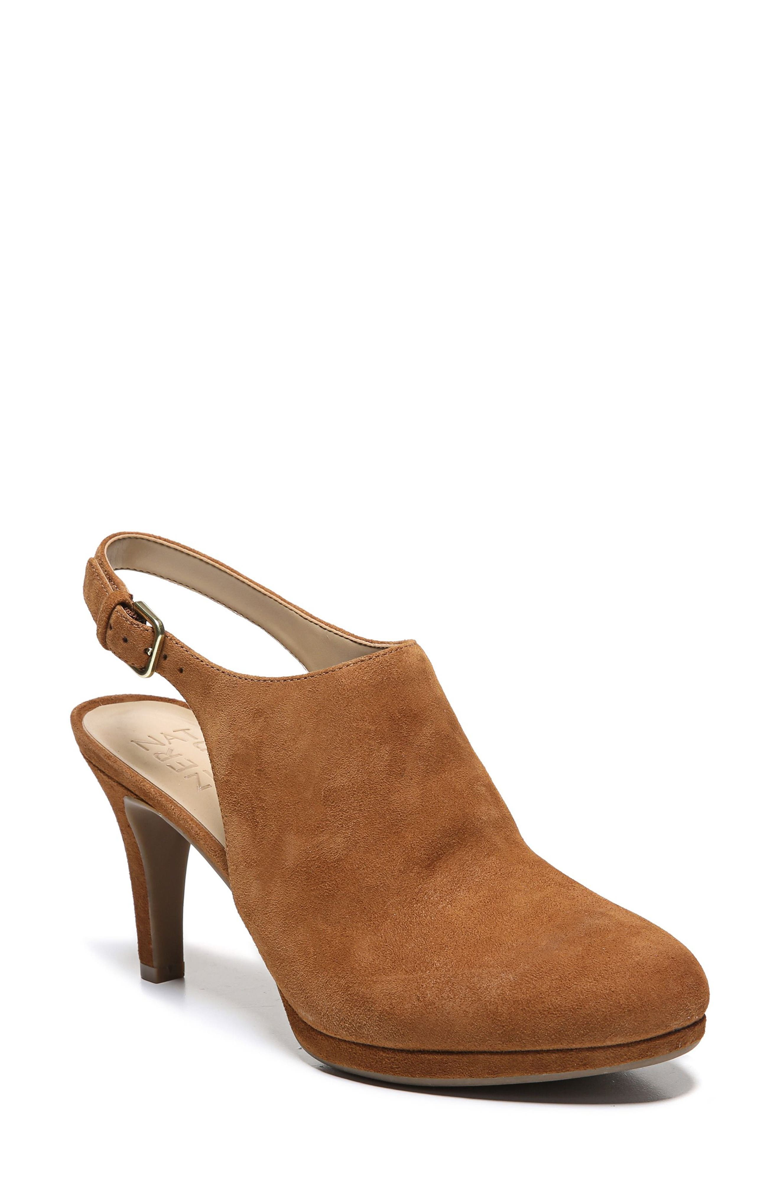 Margo Pump,                             Main thumbnail 1, color,                             Whiskey Suede