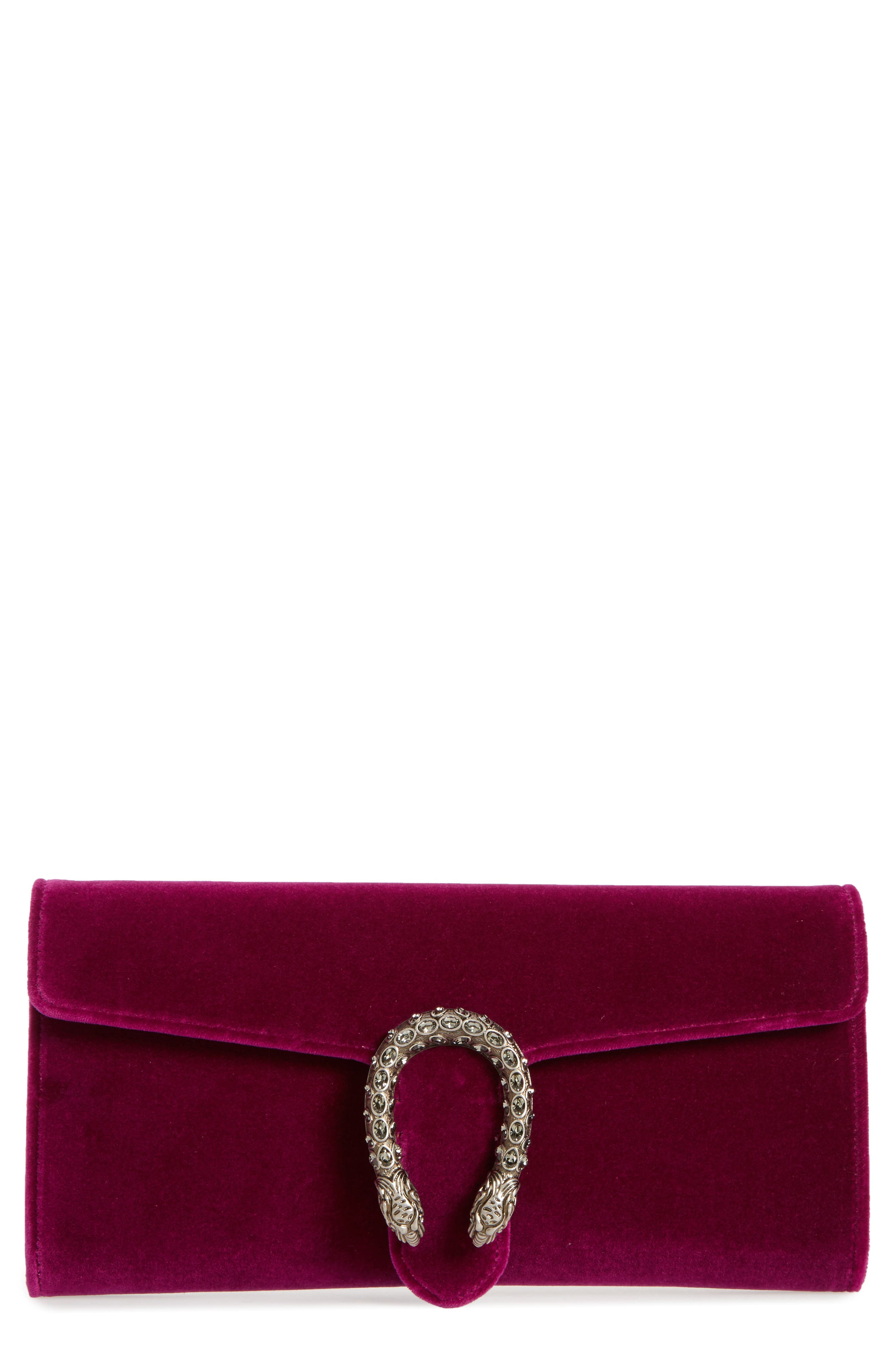 Alternate Image 1 Selected - Gucci Dionysus Velvet Clutch