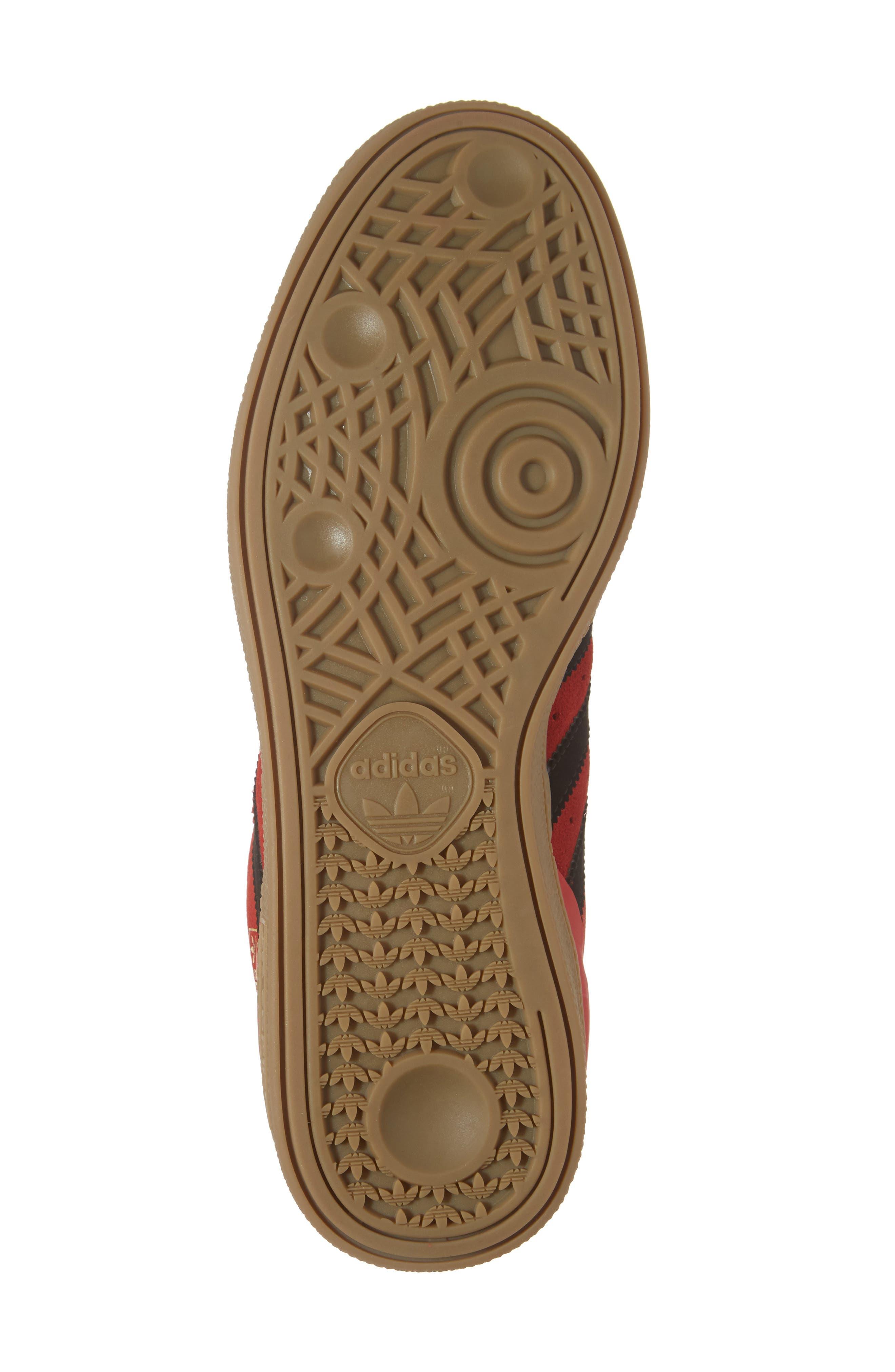 Busenitz Sneaker,                             Alternate thumbnail 6, color,                             Scarlet/ Core Black/ Gum4