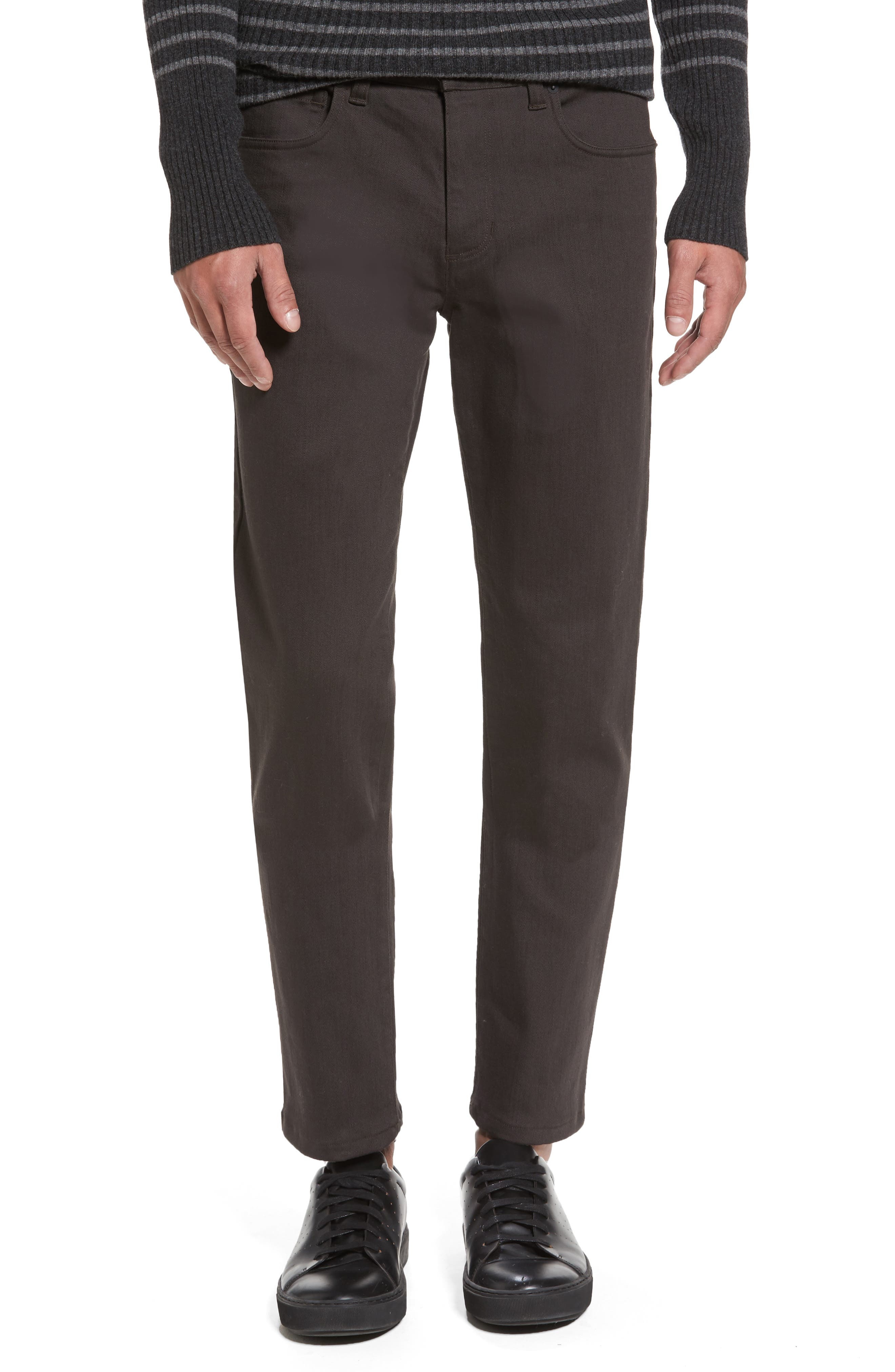 Main Image - Vince Stretch Twill 5-Pocket Pants