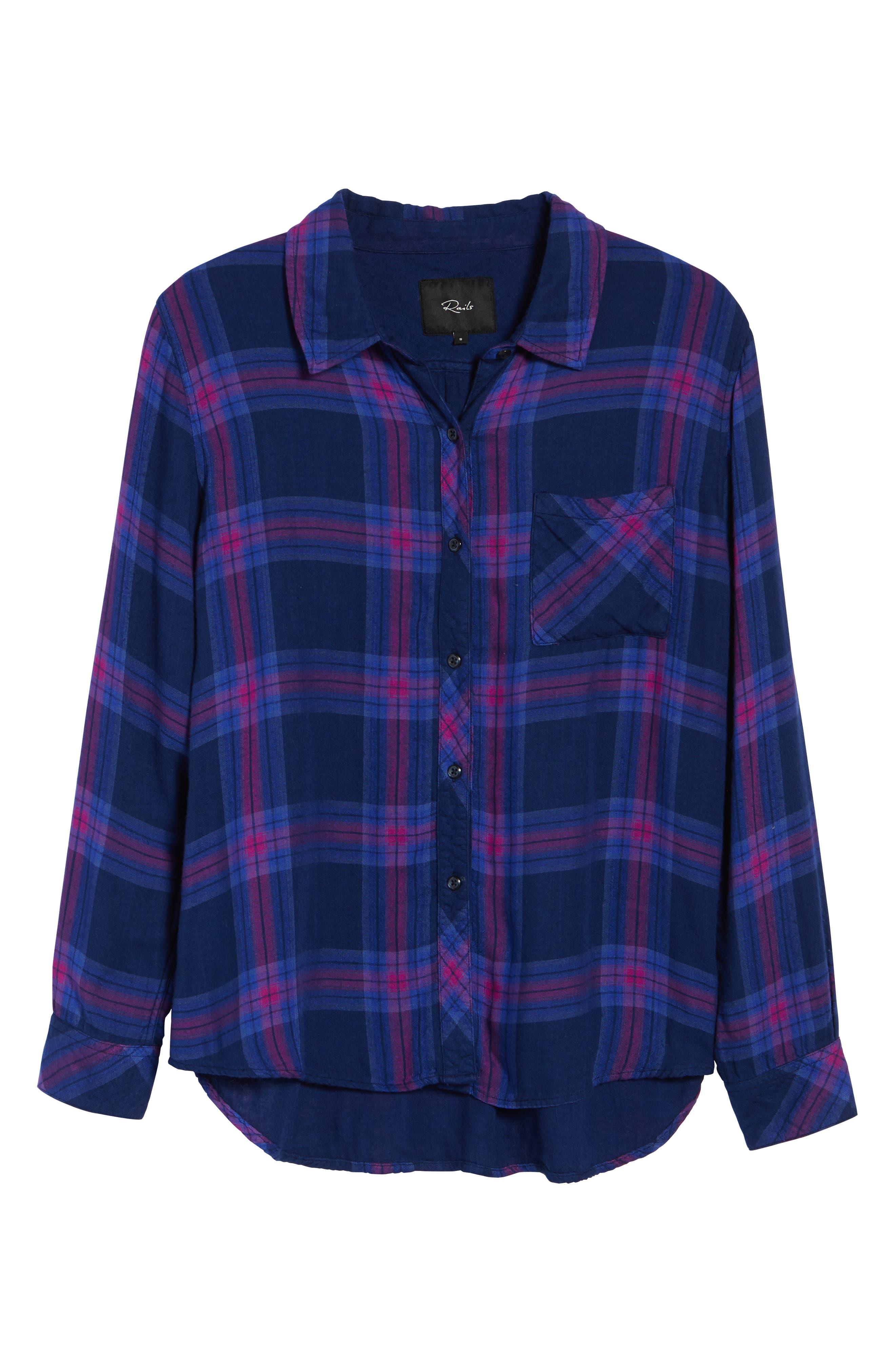 Alternate Image 7  - Rails Taitum Plaid Shirt