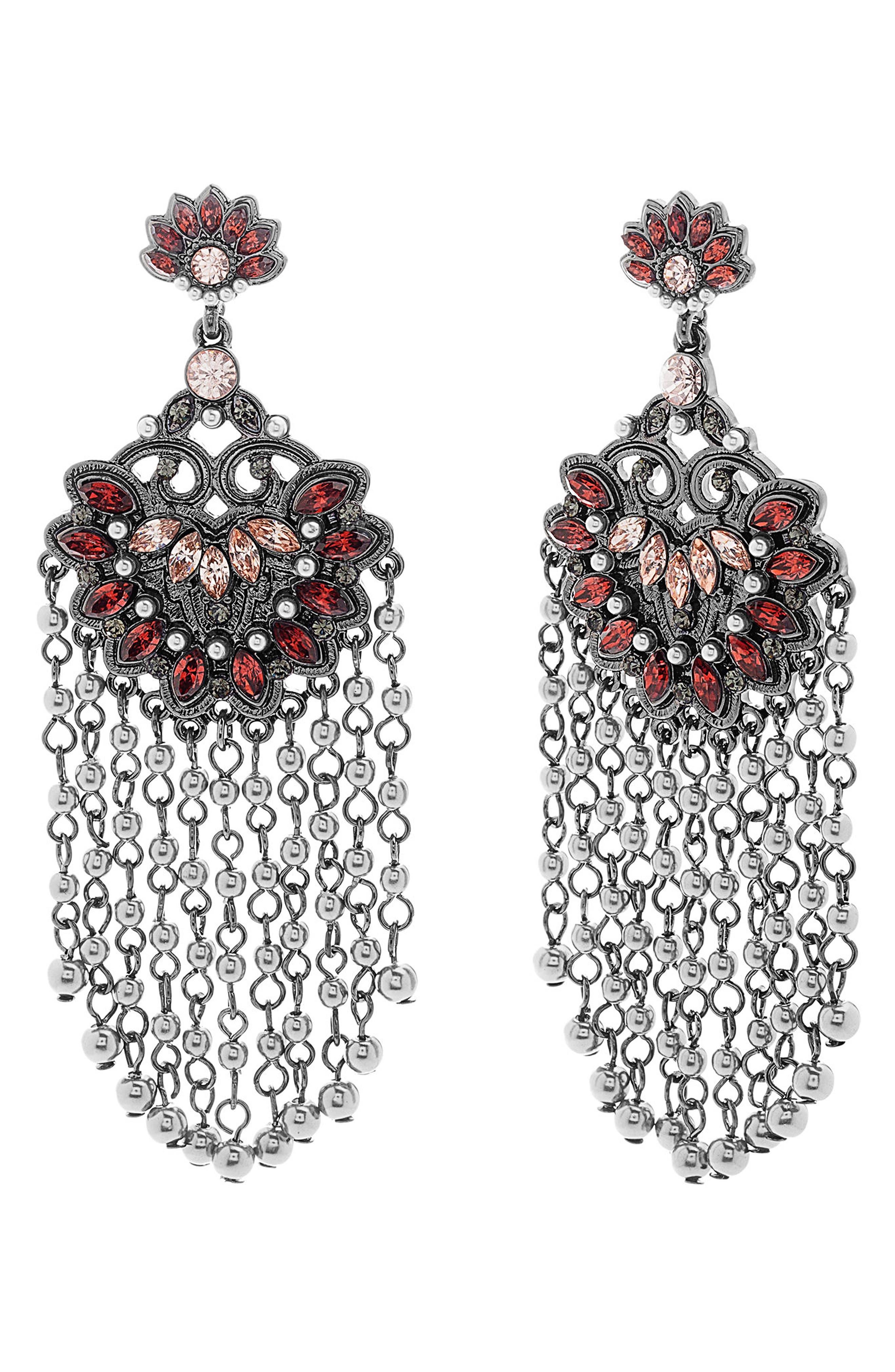 Steve Madden Chandelier Earrings