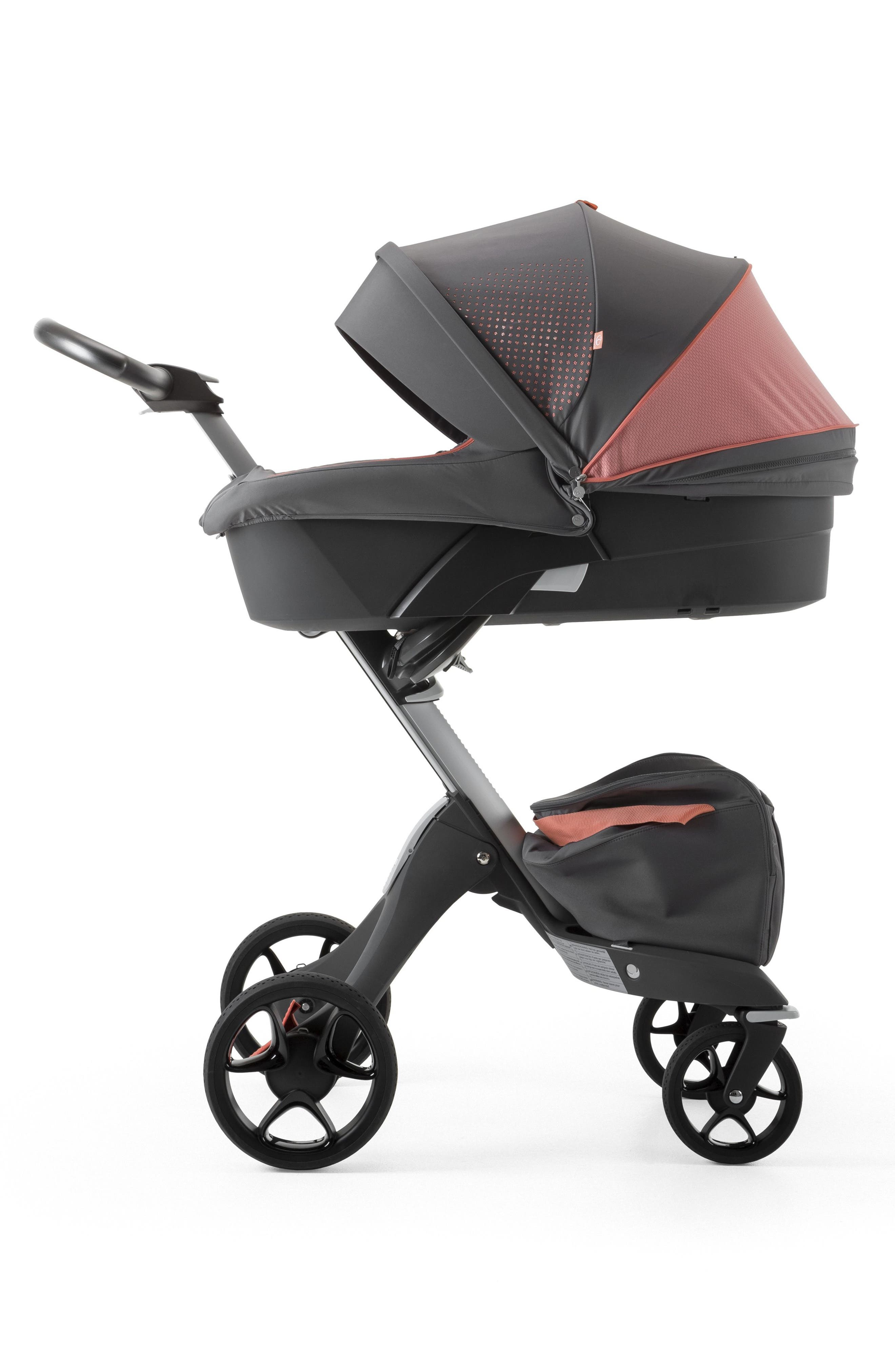 Xplory<sup>®</sup> Athleisure Stroller Carry Cot,                             Alternate thumbnail 2, color,                             Coral