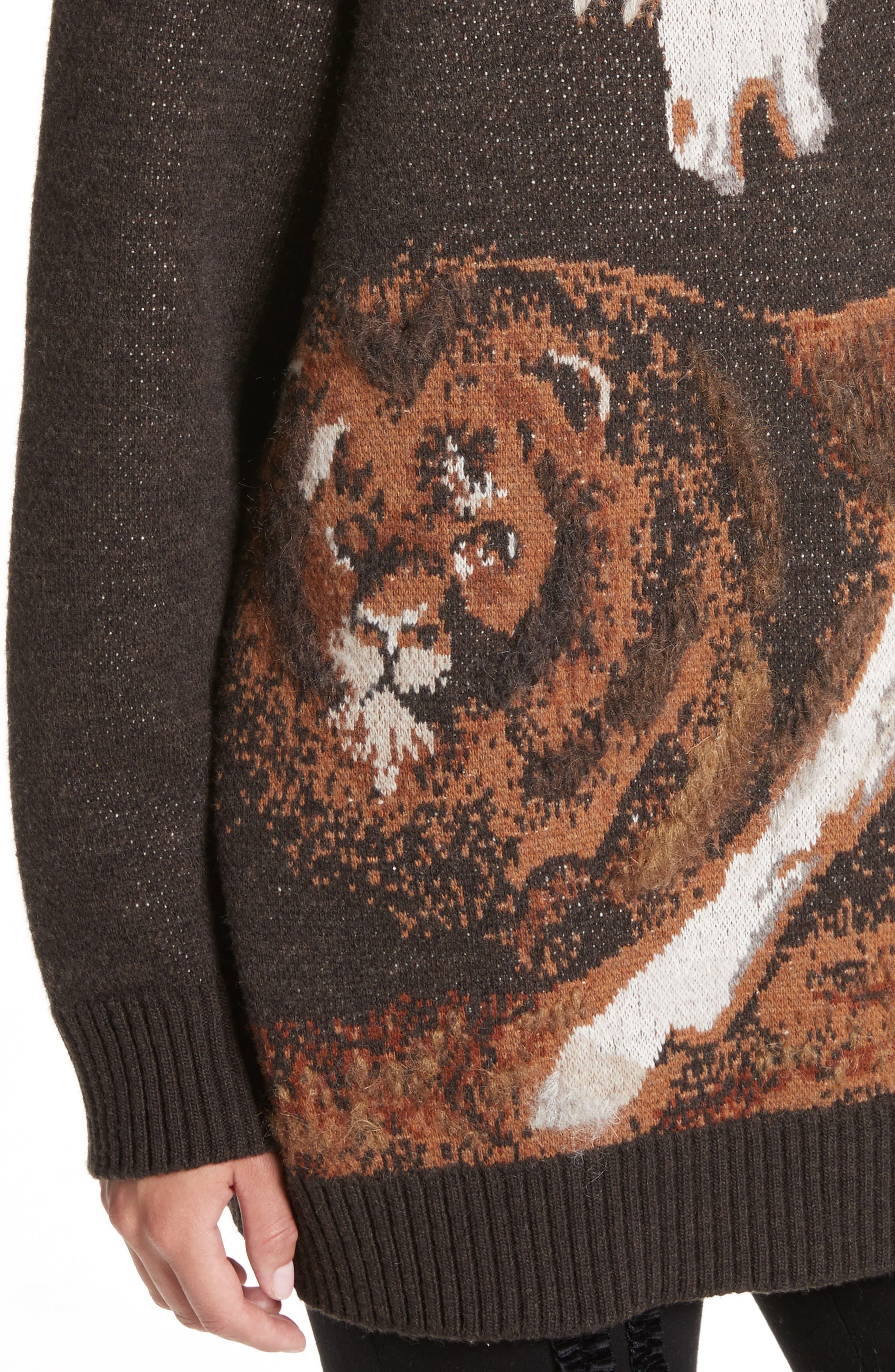 Alternate Image 6  - Stella McCartney Horse Intarsia Sweater
