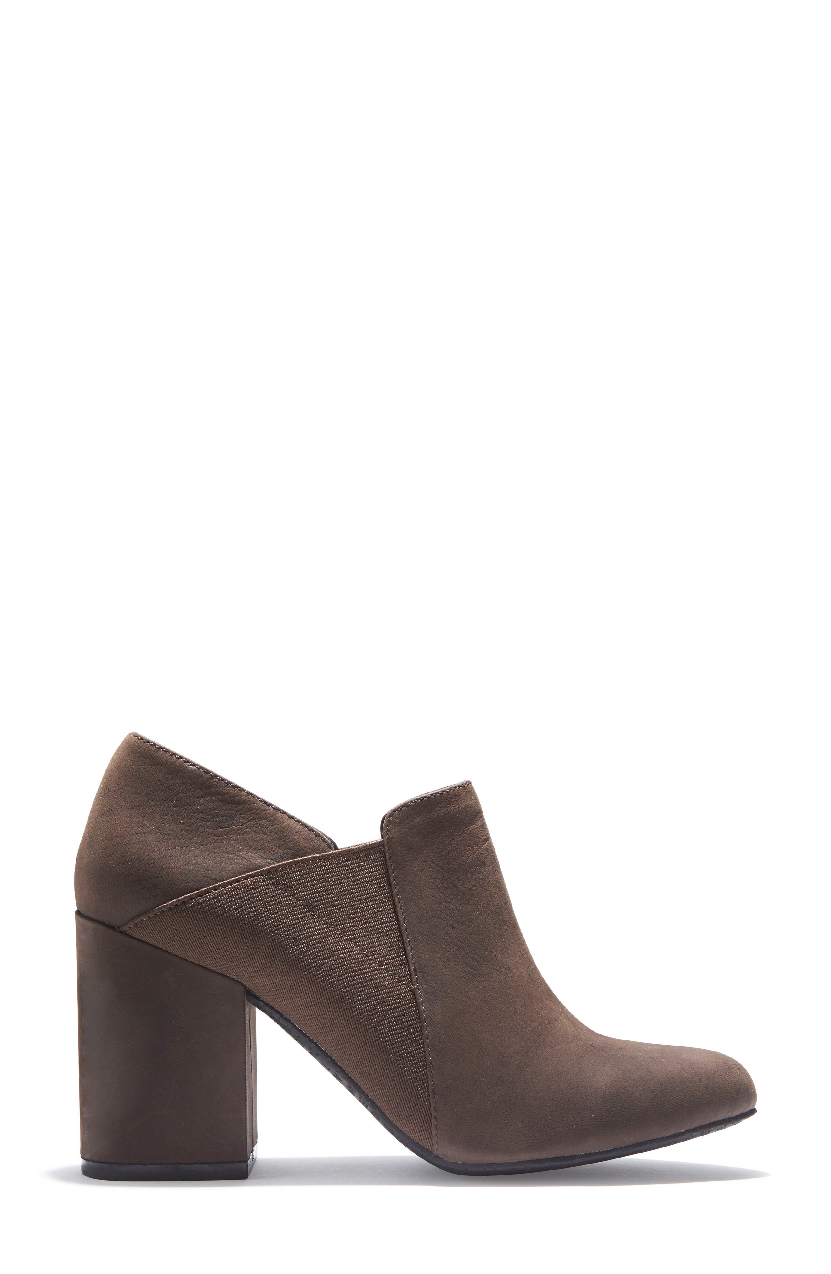 Zayna Bootie,                             Alternate thumbnail 3, color,                             Cuban Brown Leather