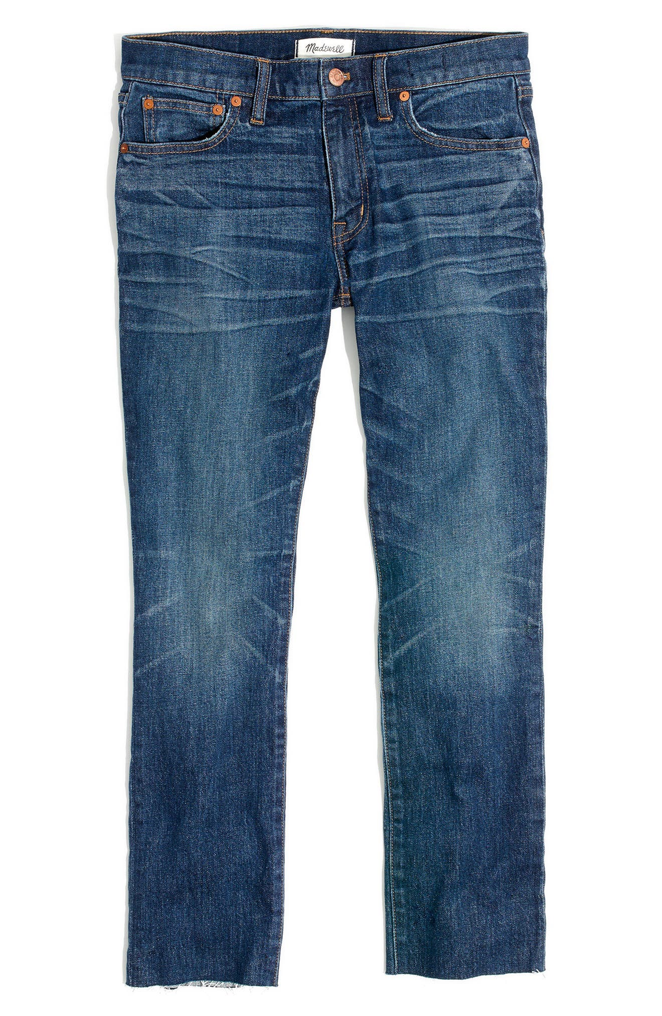 Alternate Image 2  - Madewell Slim Boyfriend Jeans (Creston Wash)