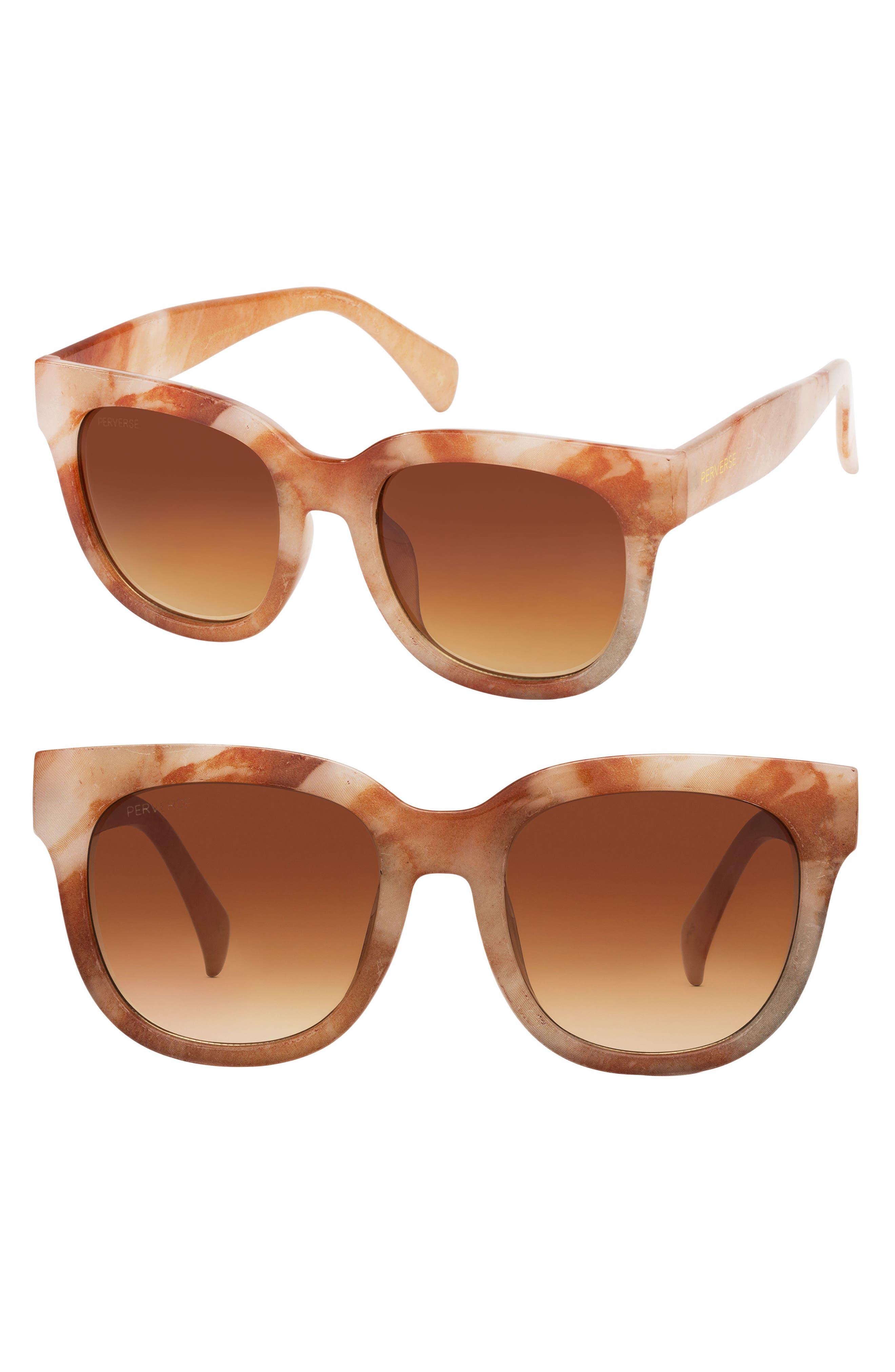 Main Image - PERVERSE Roman 50mm Gradient Lens Sunglasses