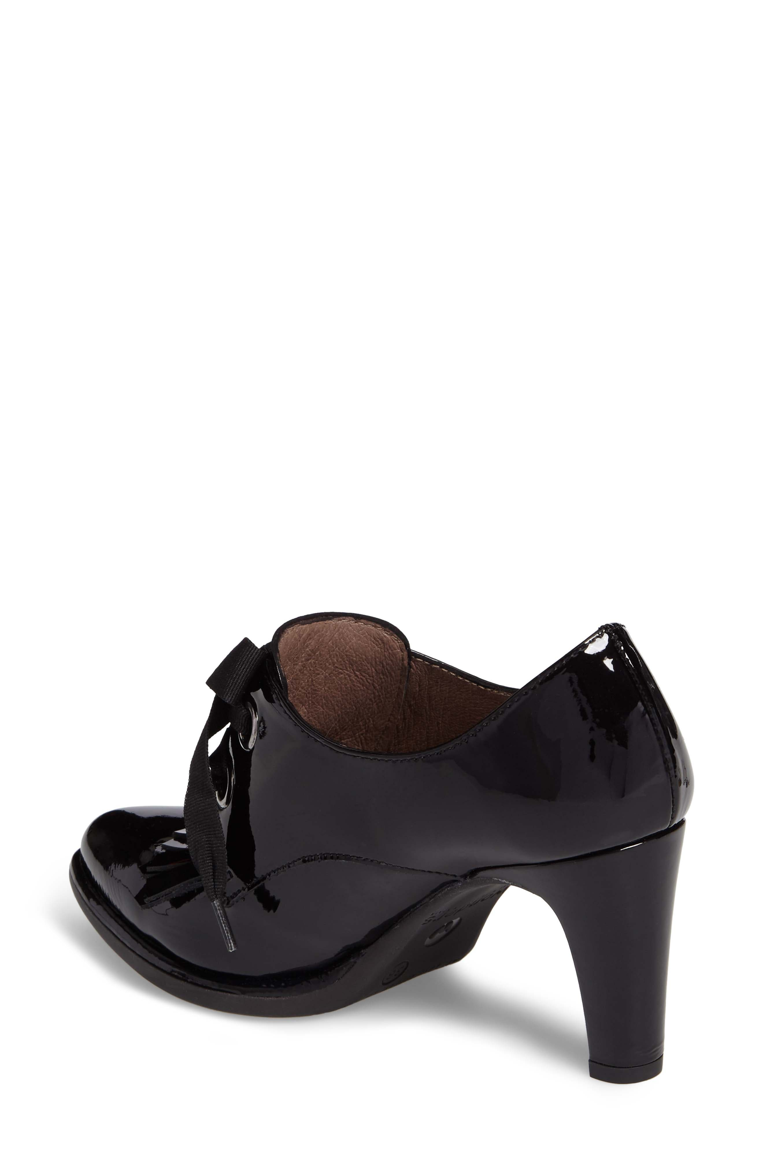 Alternate Image 2  - Wonders Lace-Up Loafer Pump (Women)