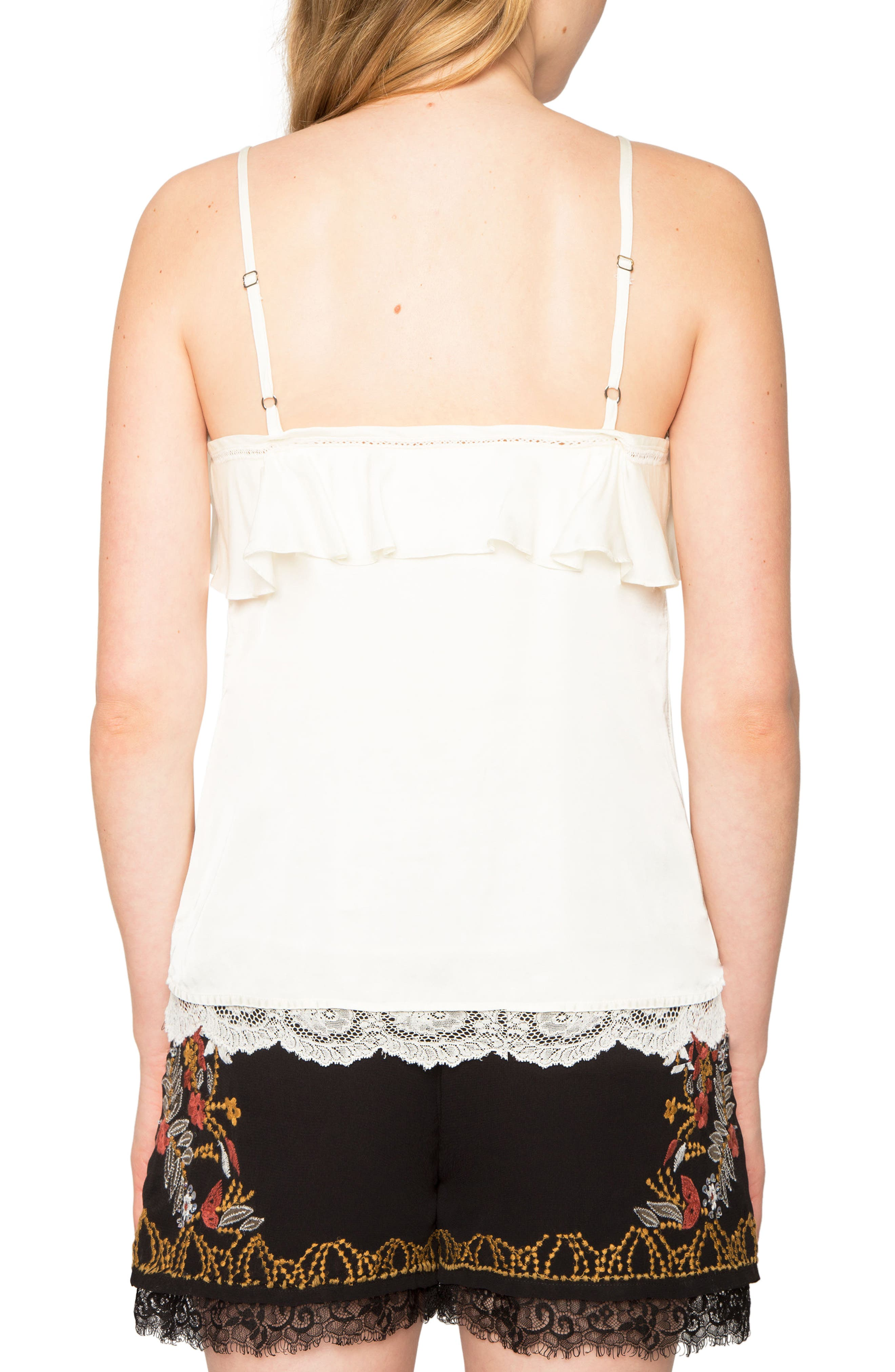 Alternate Image 2  - Willow & Clay Ruffle Camisole