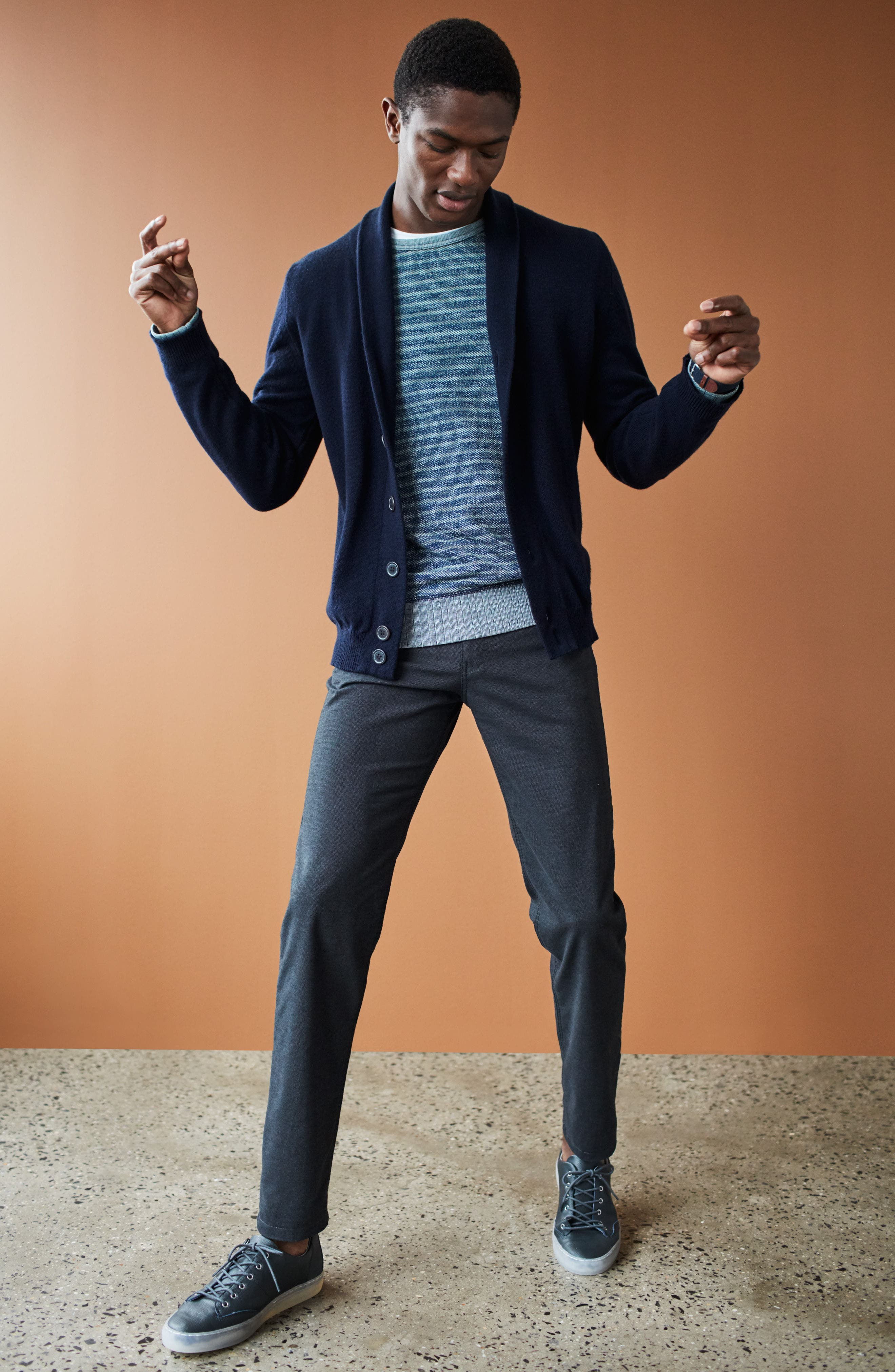 Alternate Image 10  - Brax Five-Pocket Stretch Cotton Trousers