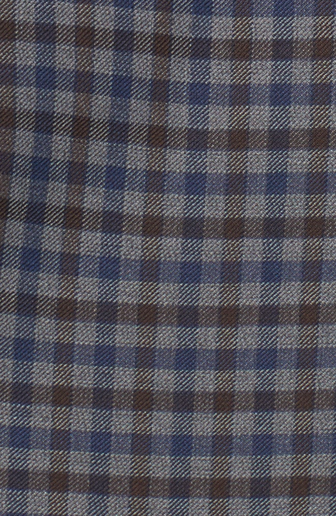 Arnold Classic Fit Check Wool Sport Coat,                             Alternate thumbnail 5, color,                             Grey