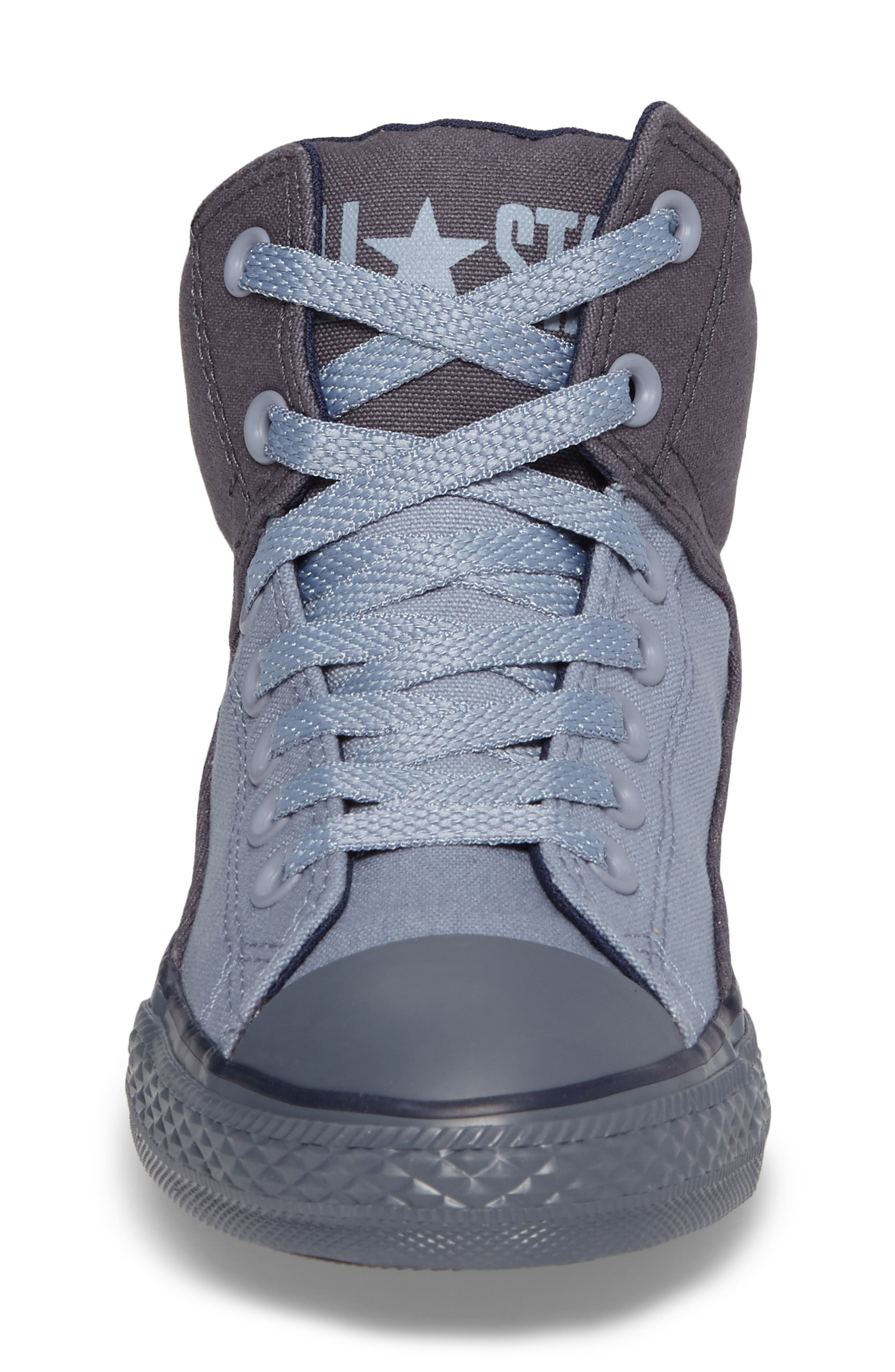Chuck Taylor<sup>®</sup> All Star<sup>®</sup> High Street High Top Sneaker,                             Alternate thumbnail 4, color,                             Sharkskin Canvas
