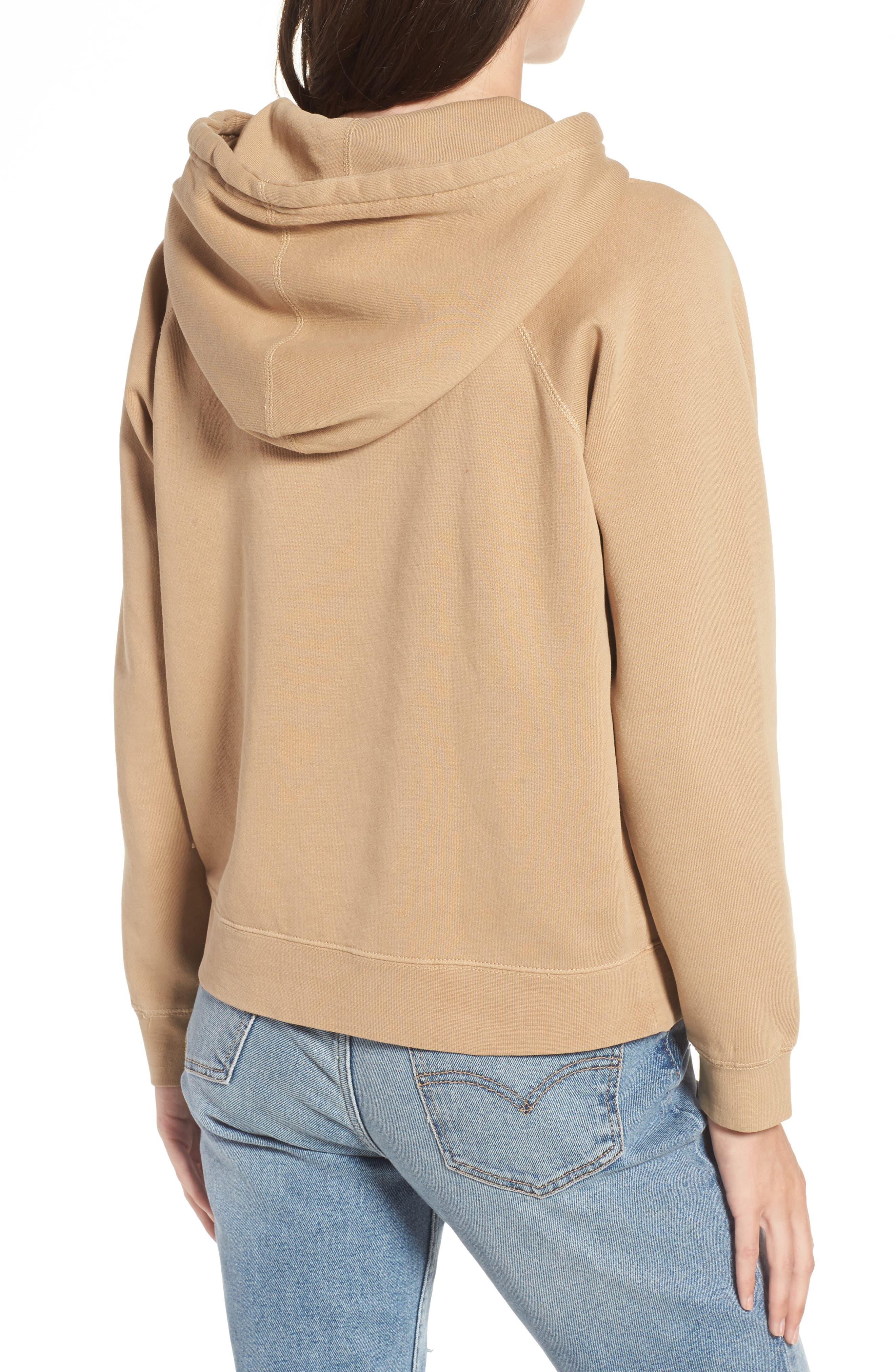 Alternate Image 2  - Obey Parkside Hooded Pullover