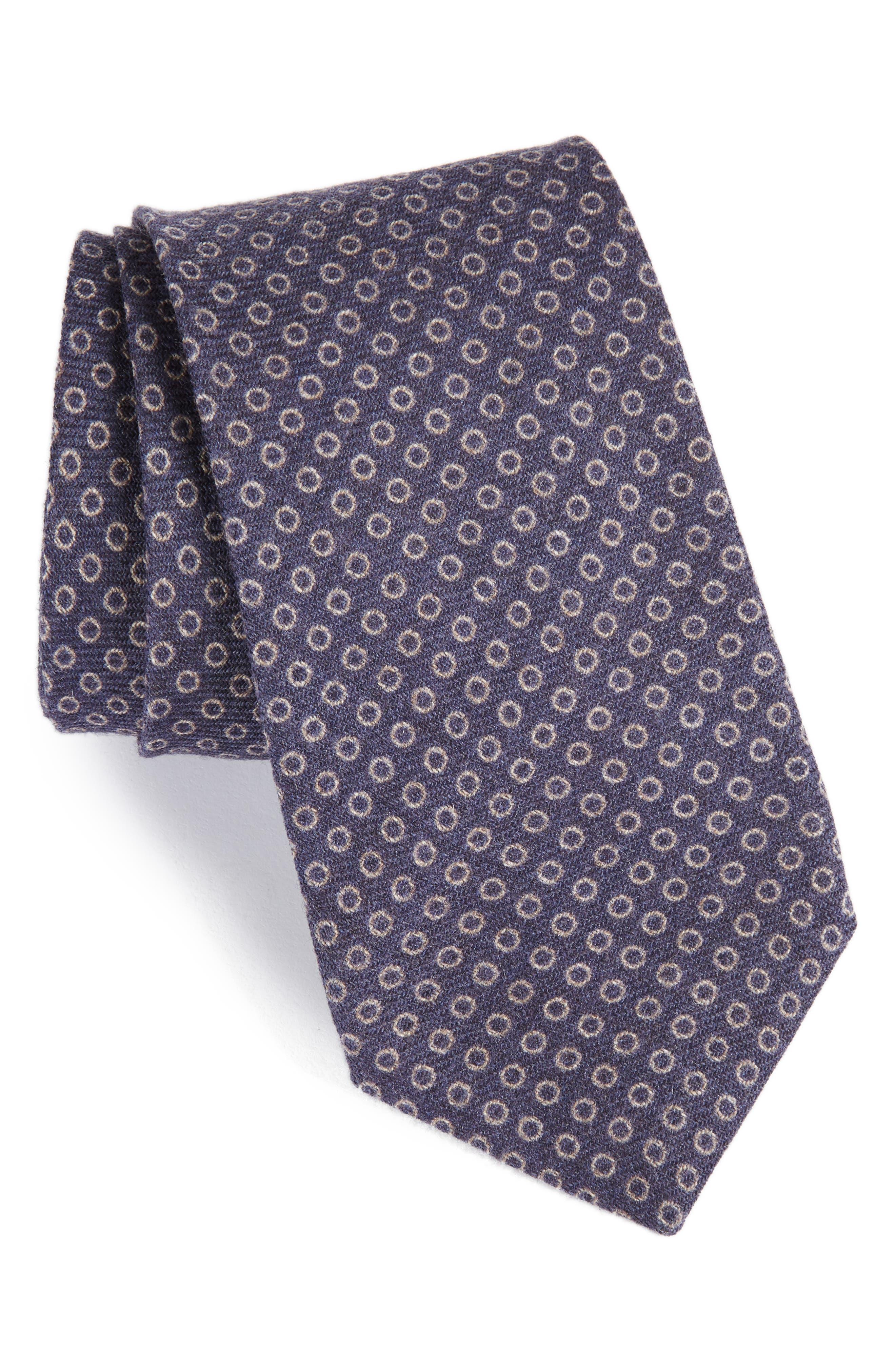 Michael Bastian Geometric Wool Tie