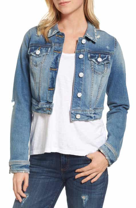 3322b9325b6 SLINK Jeans Crop Denim Jacket (Keziah)