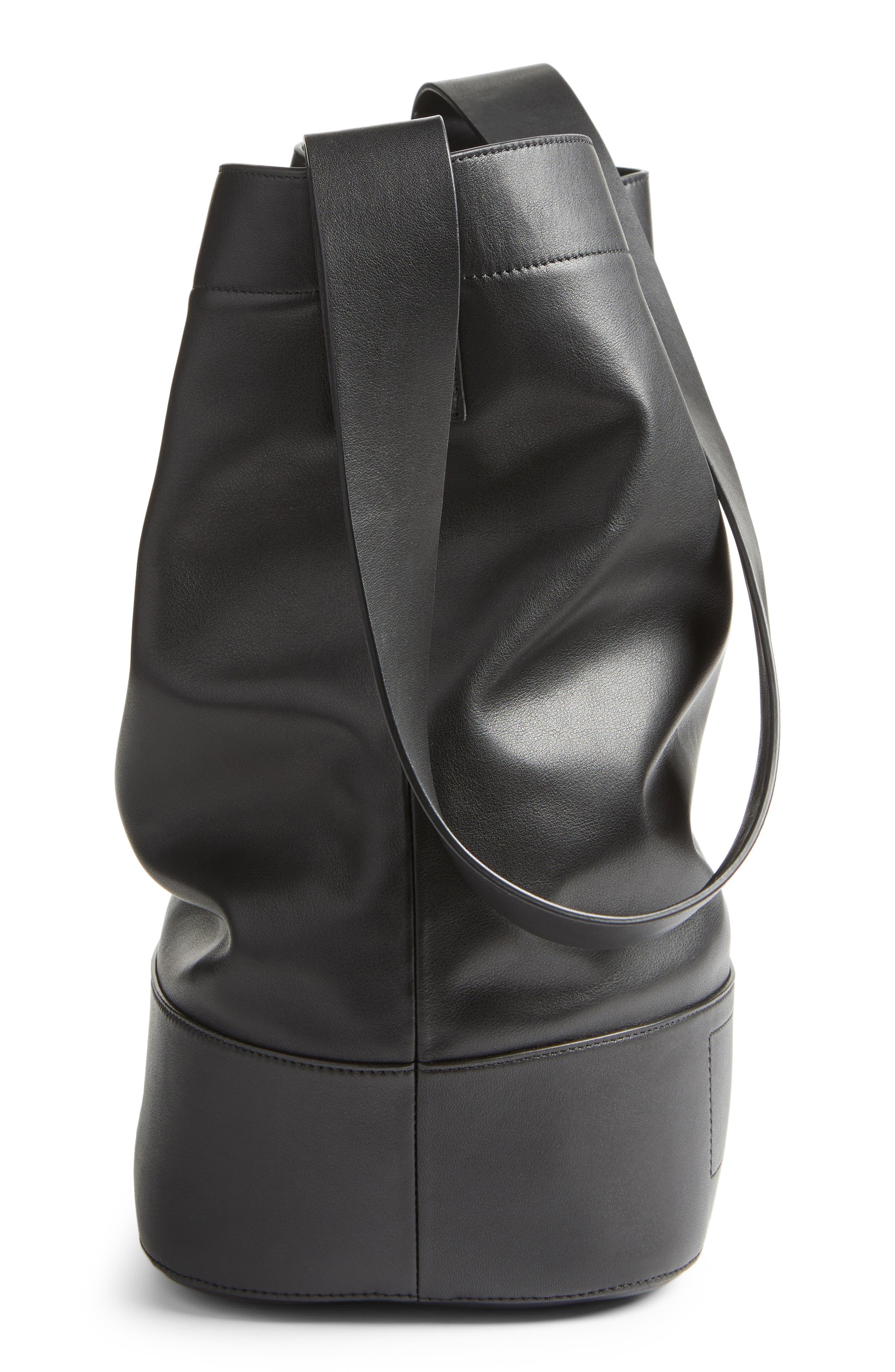 Alternate Image 4  - rag & bone Walker Sling Leather Bucket Bag