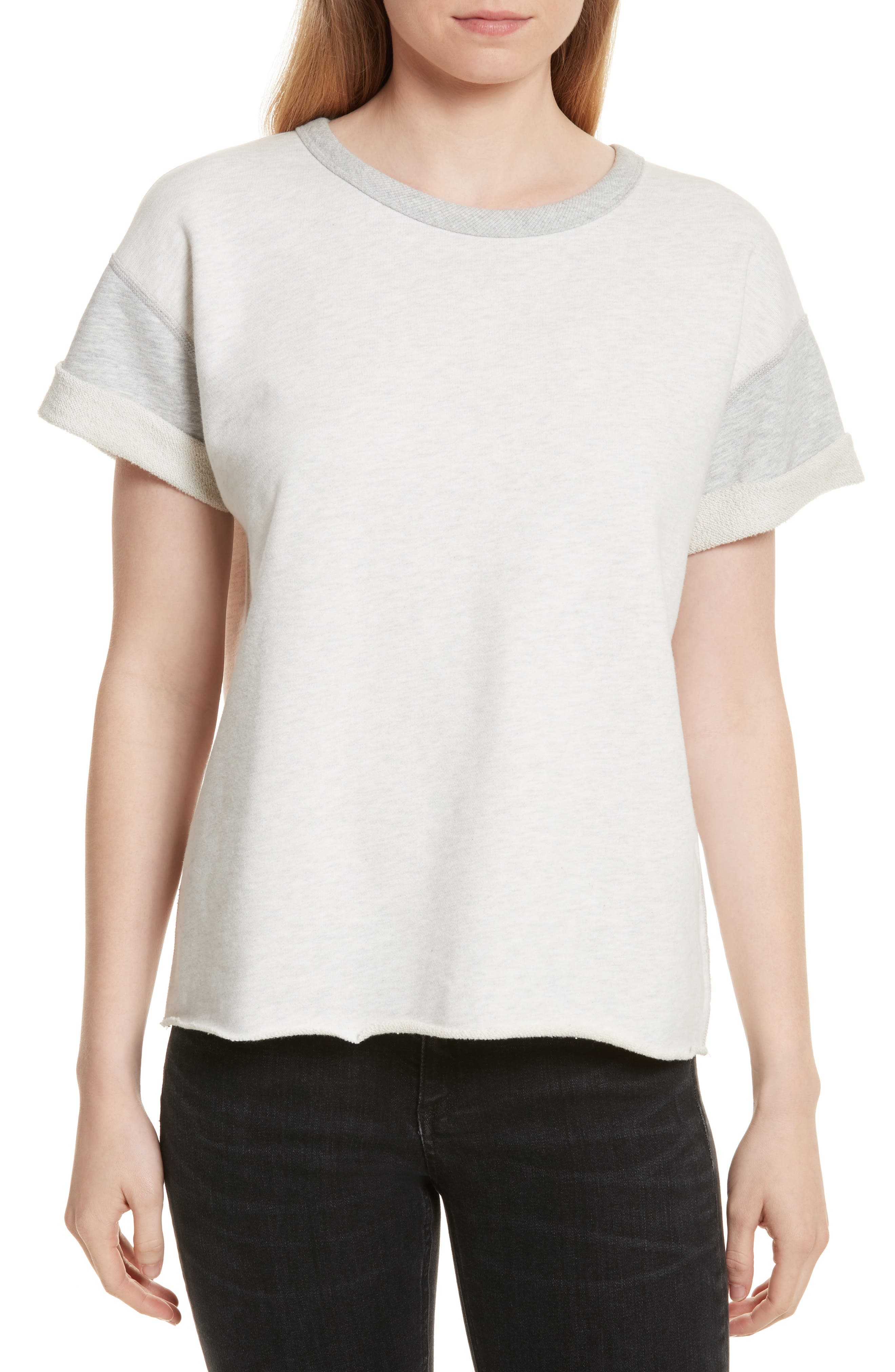 Alternate Image 1 Selected - rag & bone/JEAN Walton Tee