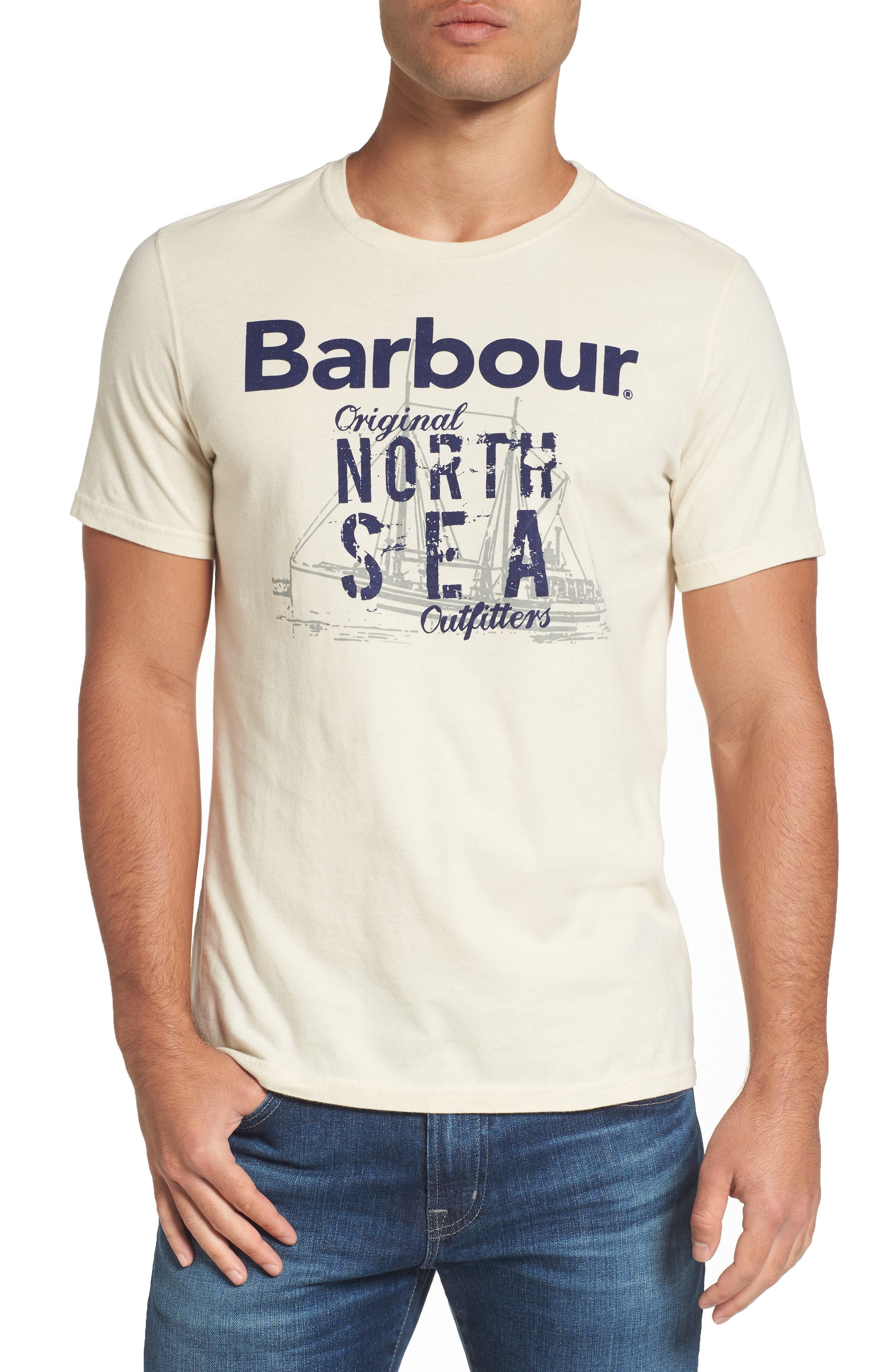 Main Image - Barbour Blade Slim Fit Logo Graphic T-Shirt