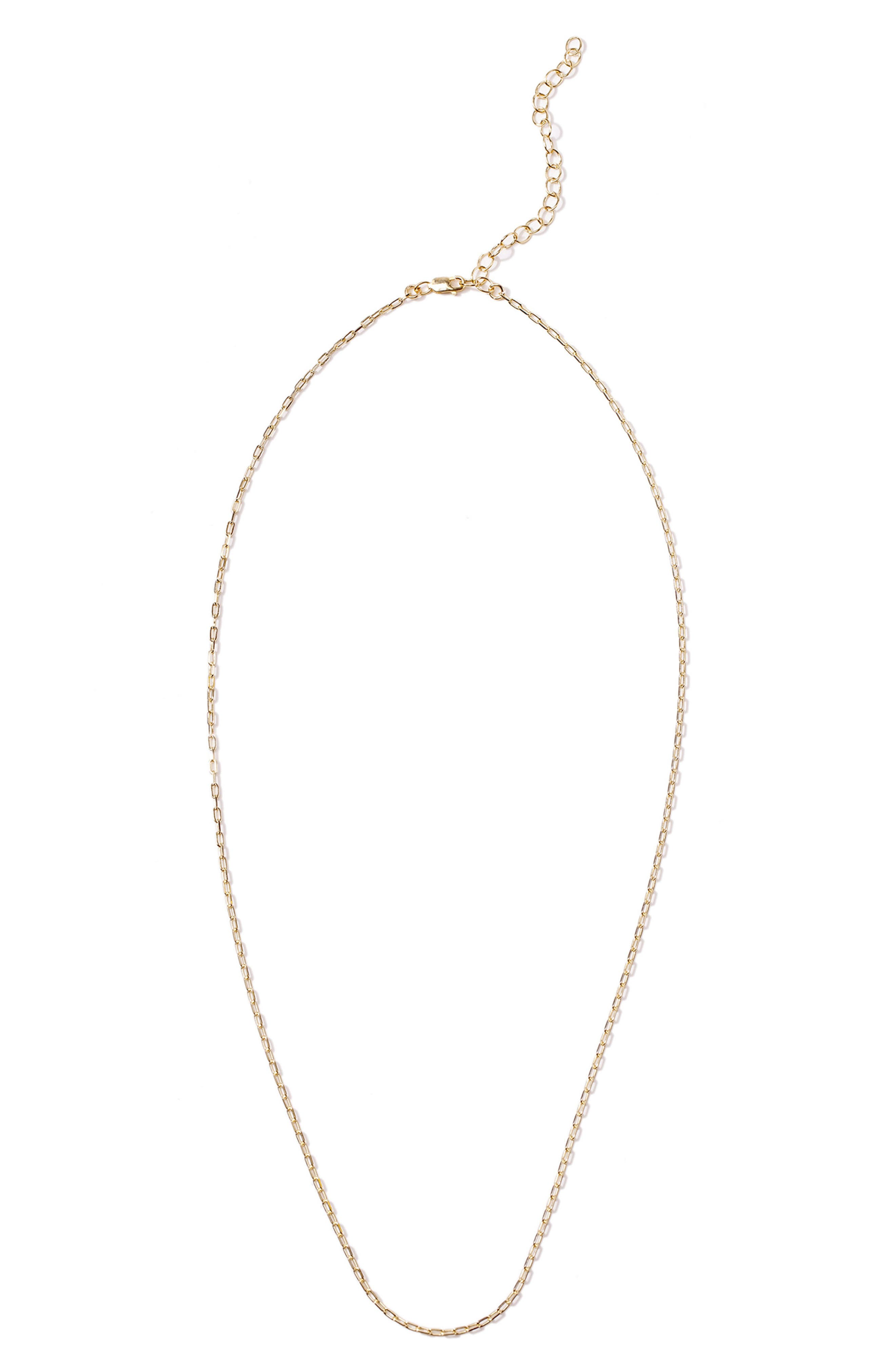 Petalbox Link Necklace,                             Alternate thumbnail 7, color,                             Gold