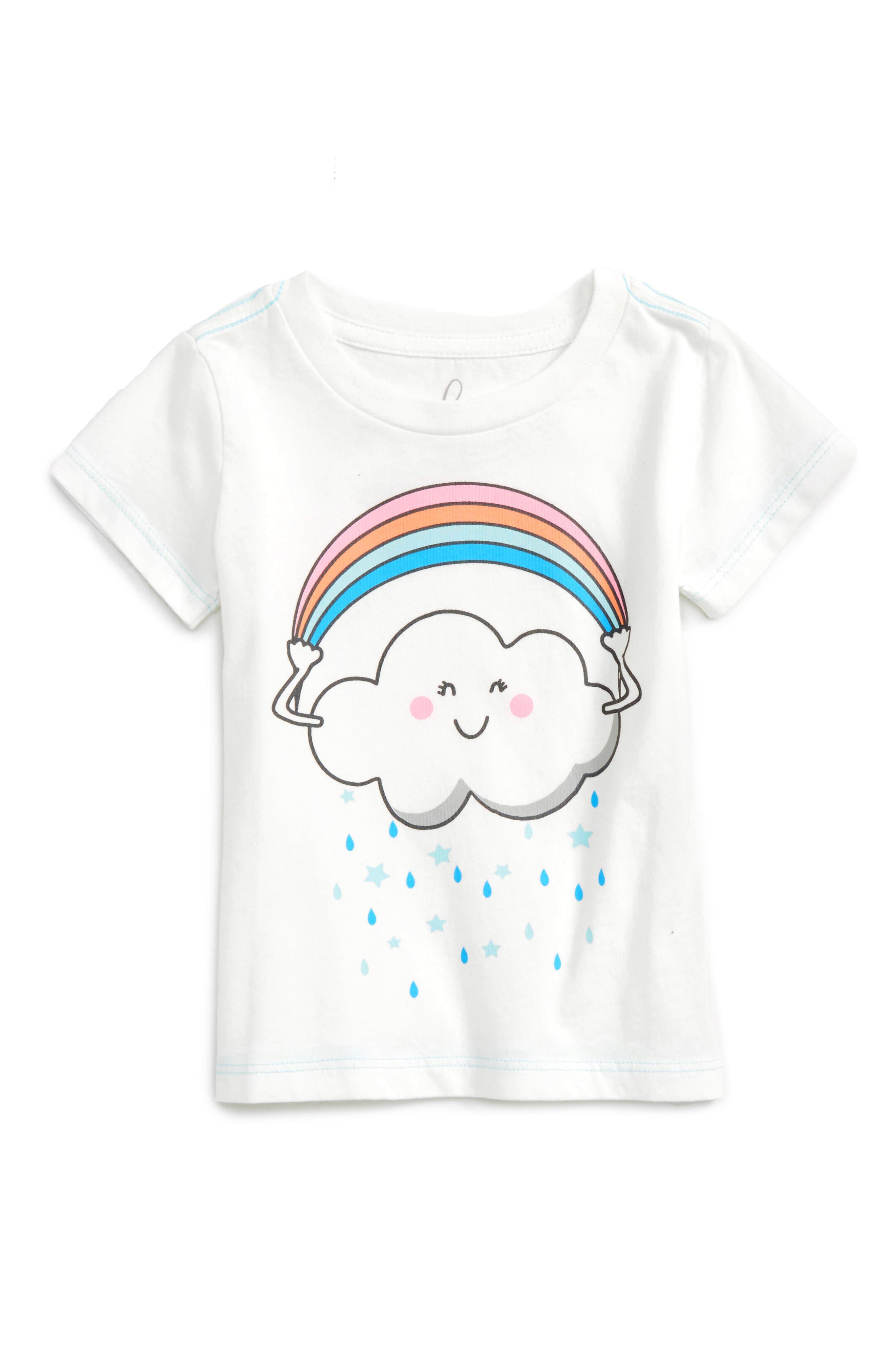 PEEK ESSENTIALS Peek Rainbow Cloud Tee