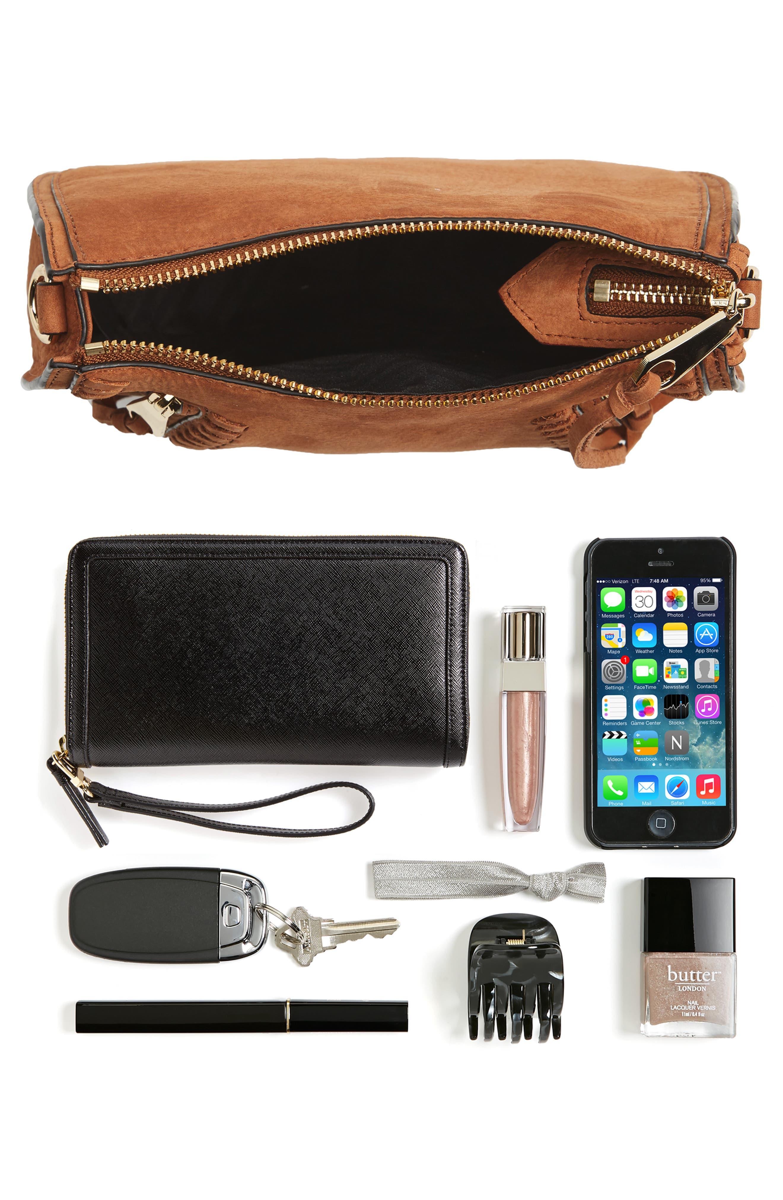 Mini Vanity Saddle Bag,                             Alternate thumbnail 7, color,