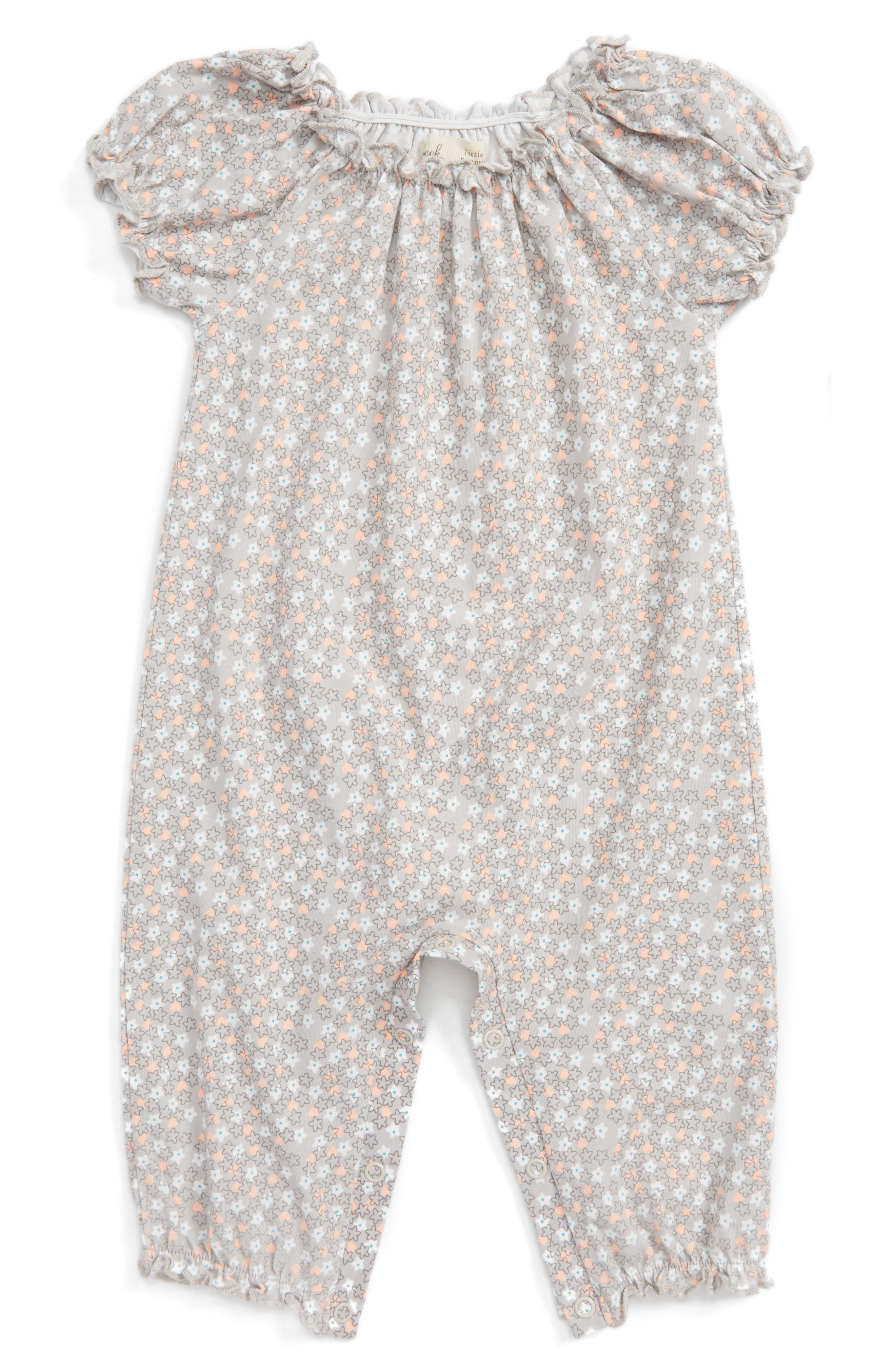 Peek Bubble Romper,                         Main,                         color, Light Pink