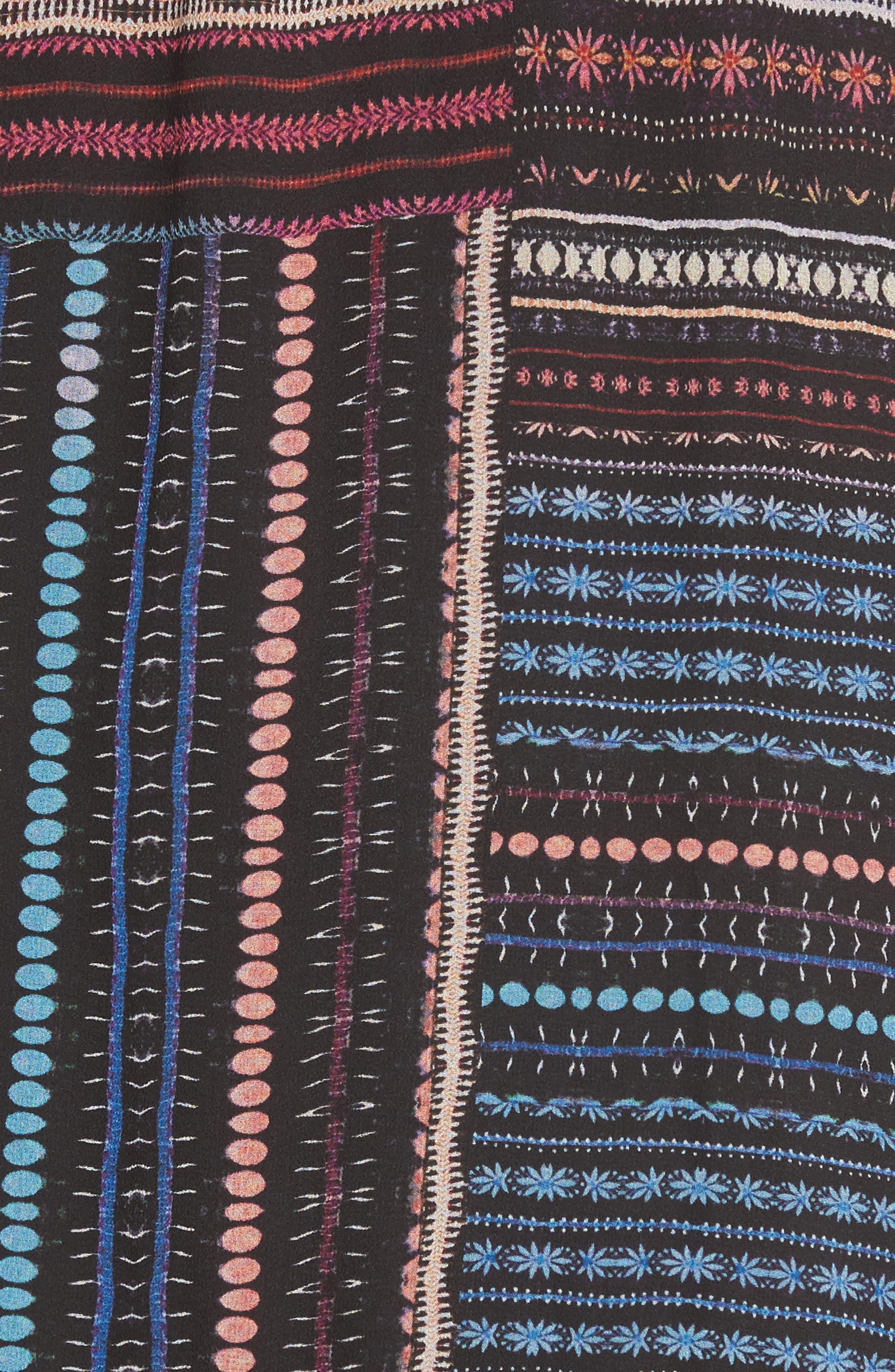 Alternate Image 5  - Parker Bianca Cold Shoulder Silk Shift Dress
