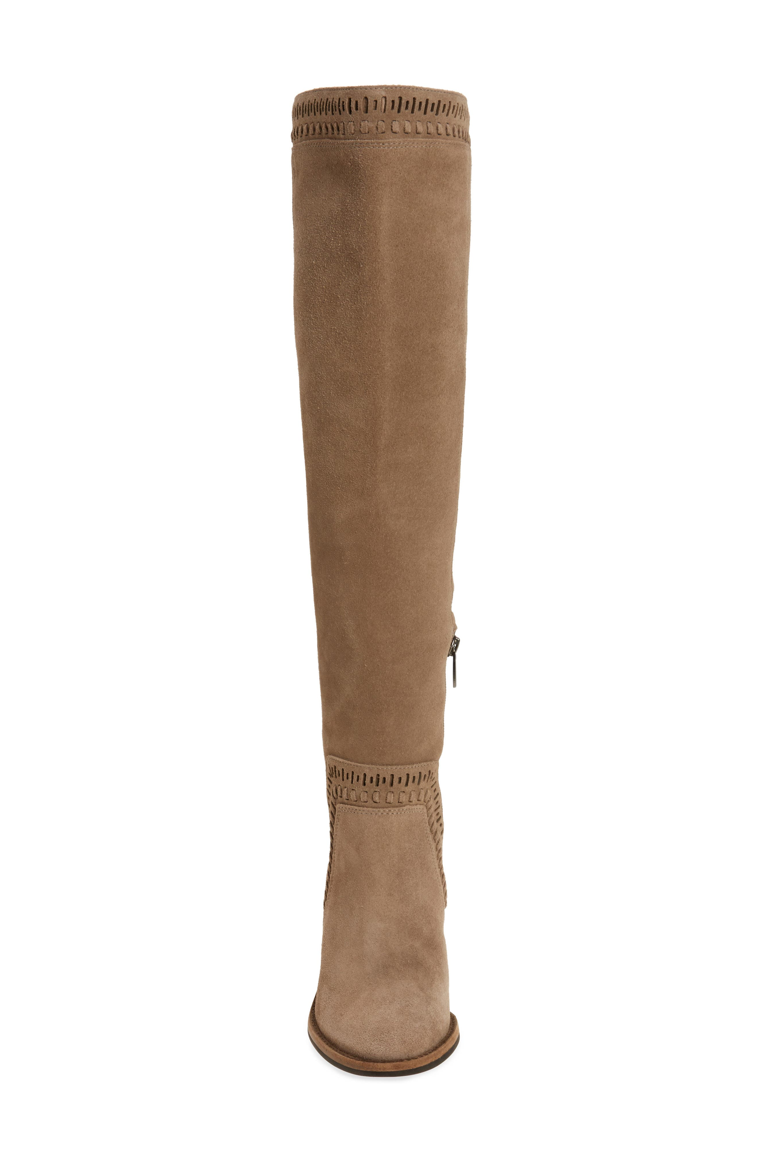 Madolee Over the Knee Boot,                             Alternate thumbnail 4, color,                             Foxy