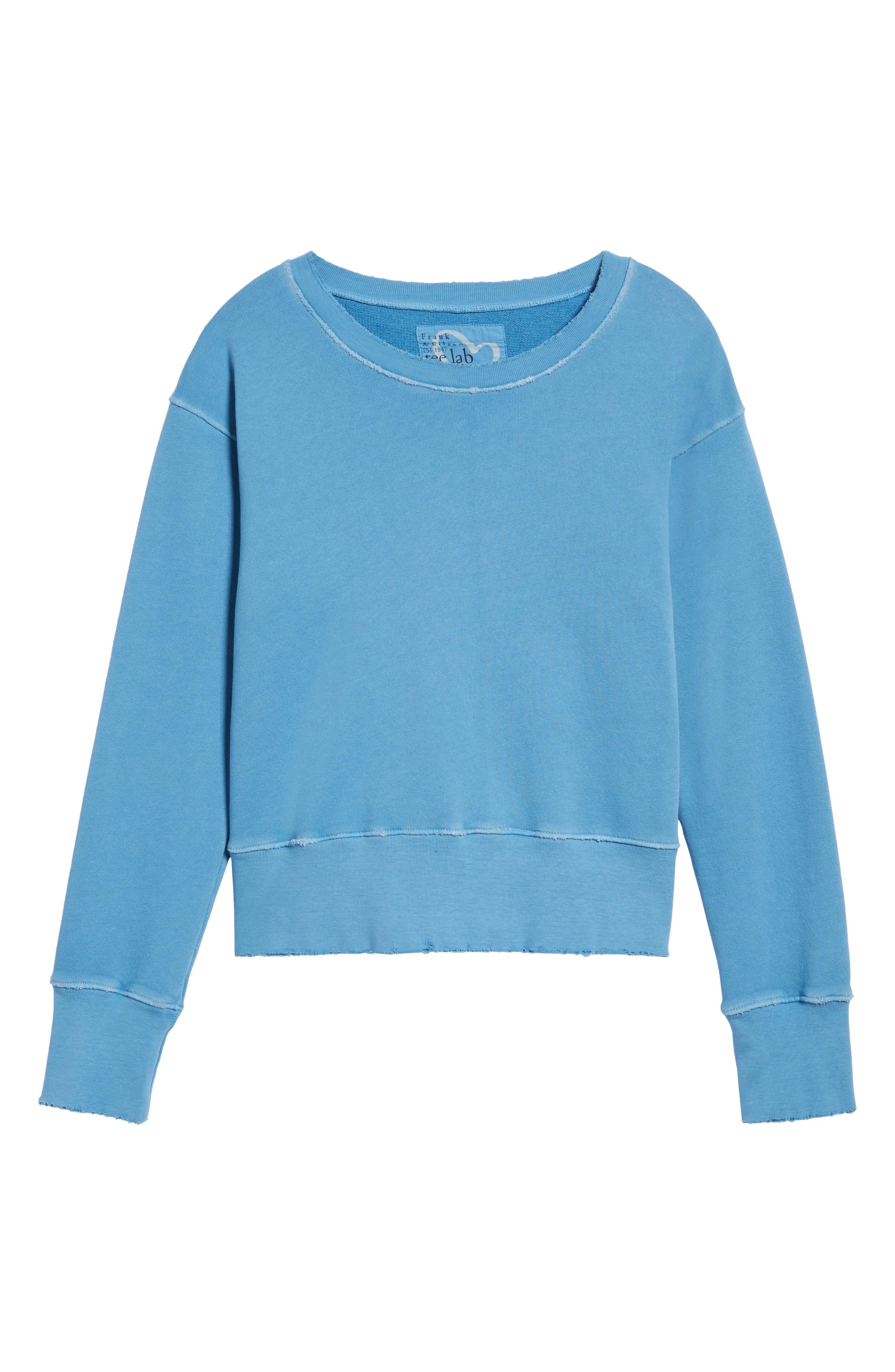 Sweatshirt,                             Alternate thumbnail 6, color,                             Deep End