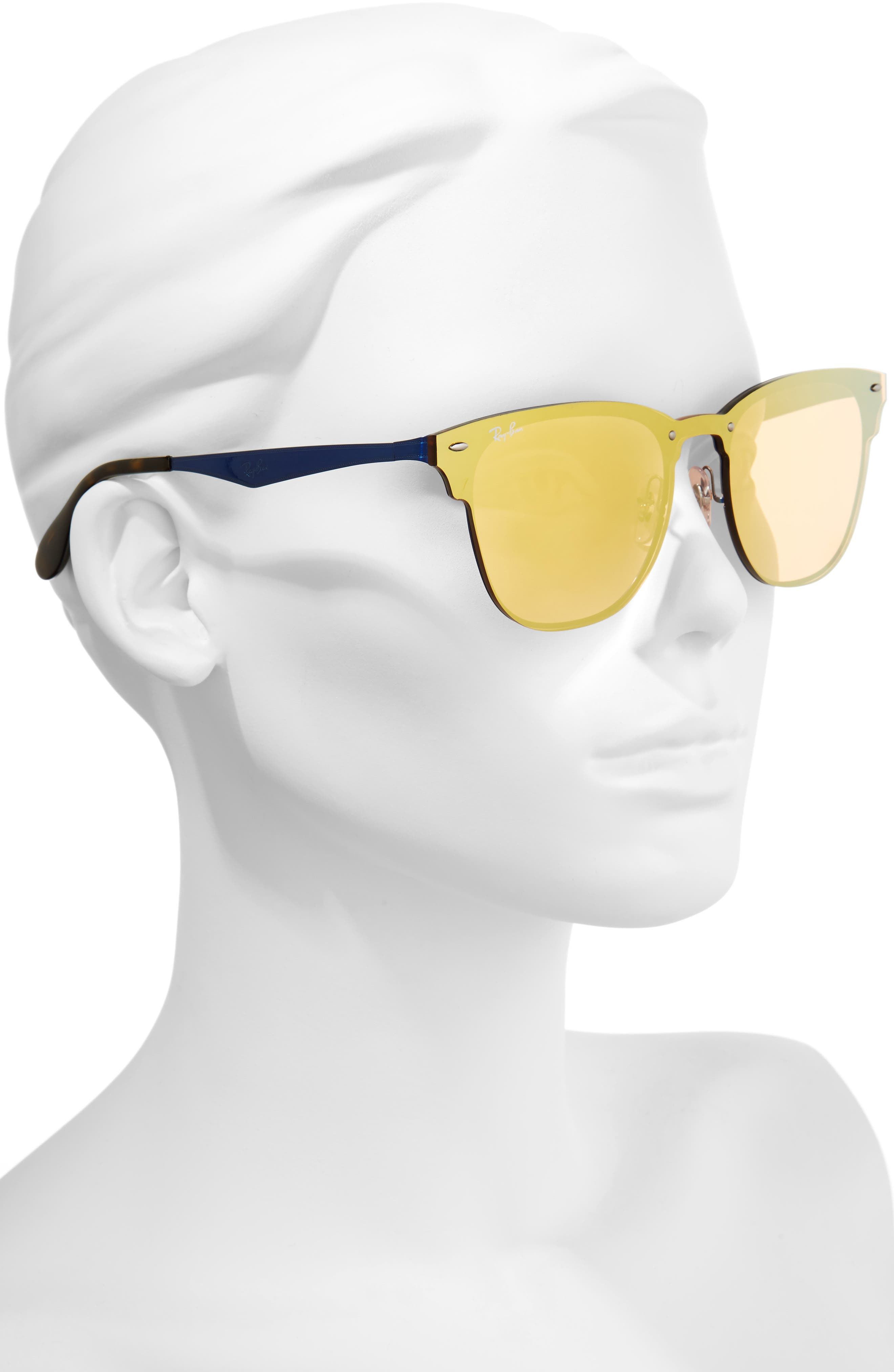 Alternate Image 3  - Ray-Ban 52mm Mirrored Sunglasses