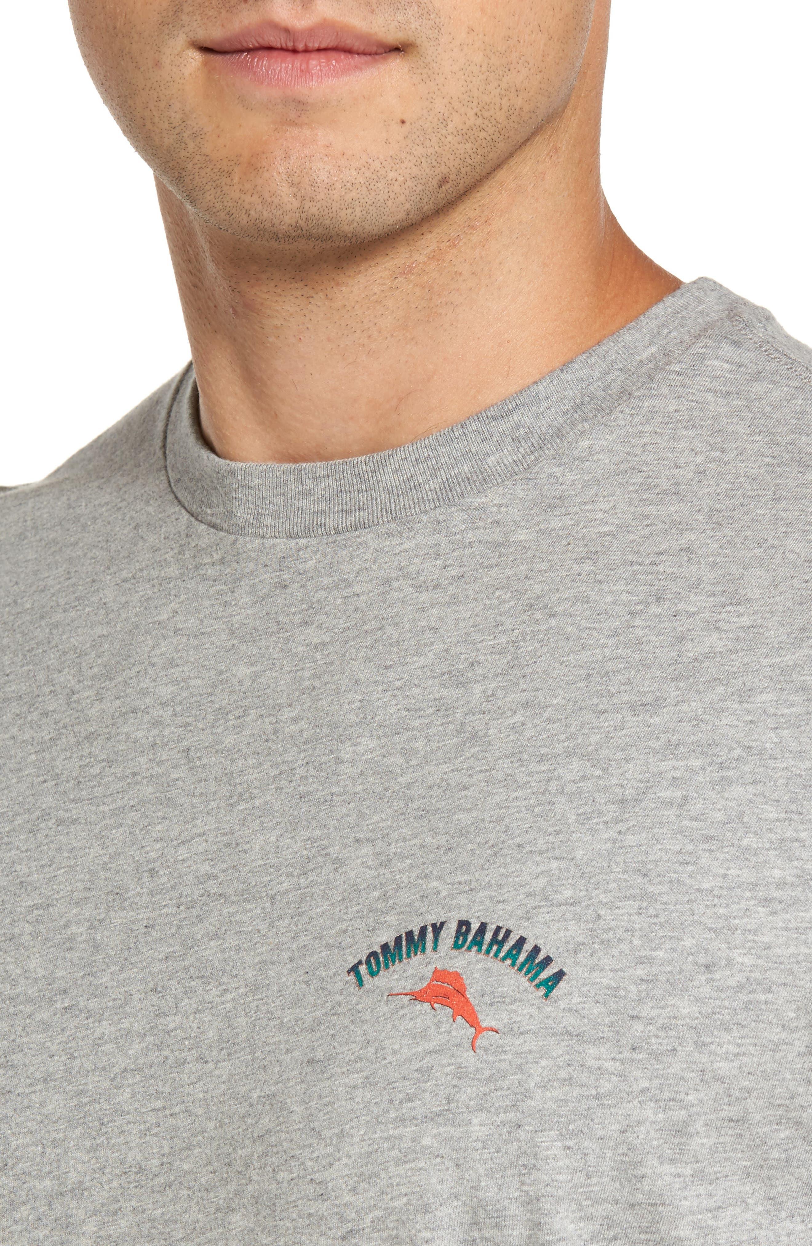 Alternate Image 4  - Tommy Bahama Outside Limebacker Standard Fit T-Shirt