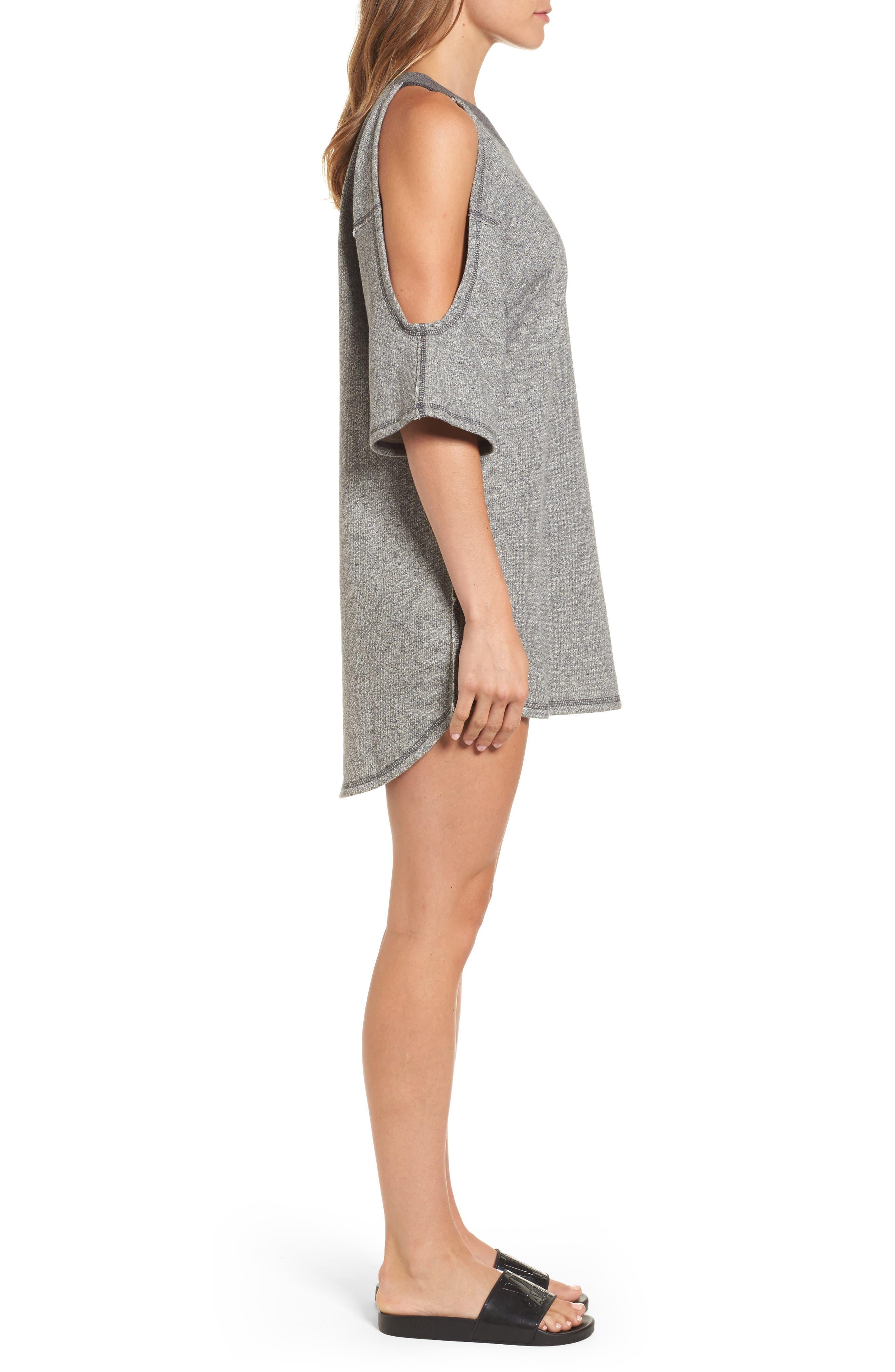 Alternate Image 3  - IVY PARK® Cold Shoulder Sweatshirt Dress