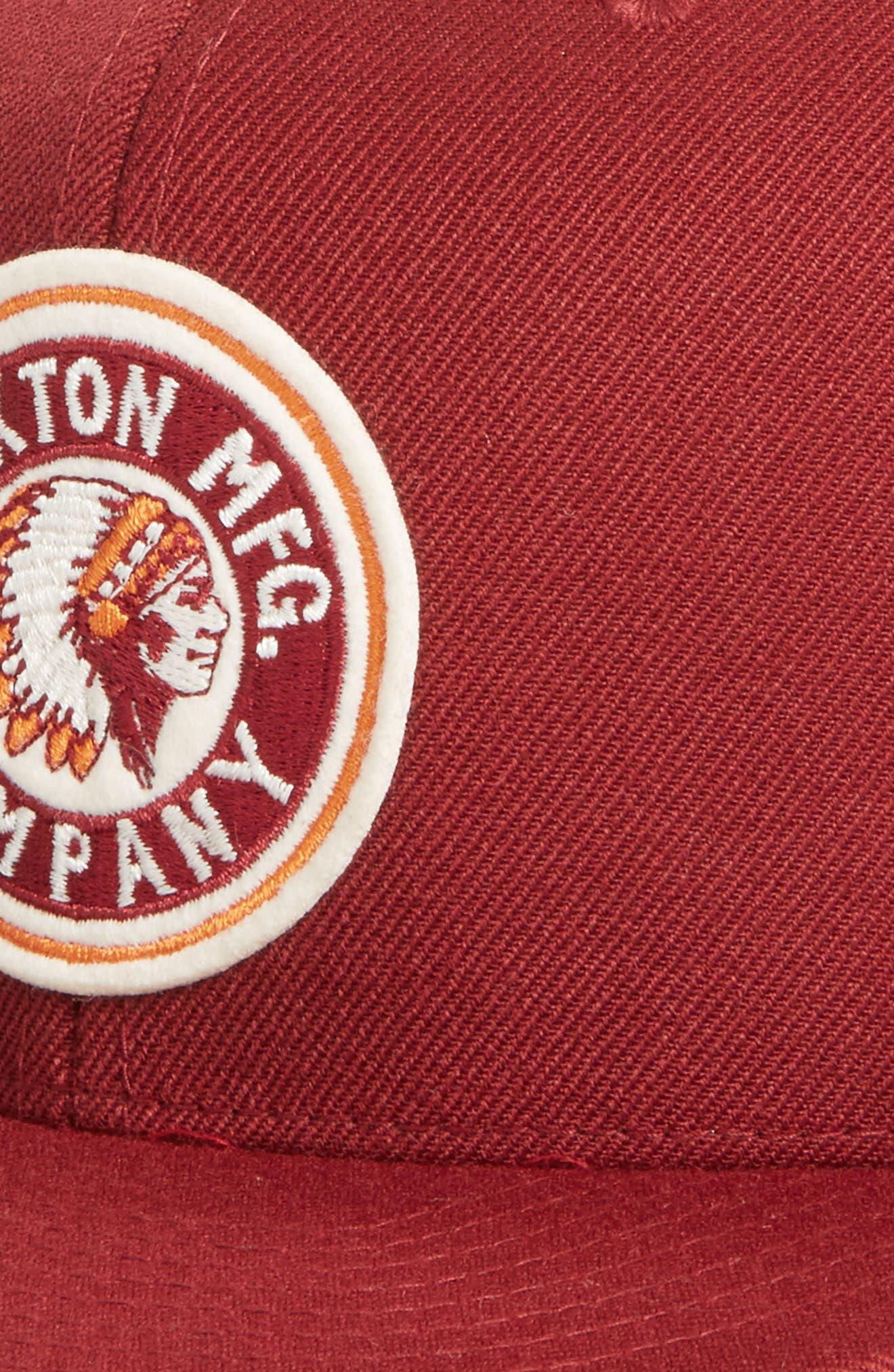 Alternate Image 3  - Brixton 'Rival' Snapback Baseball Cap