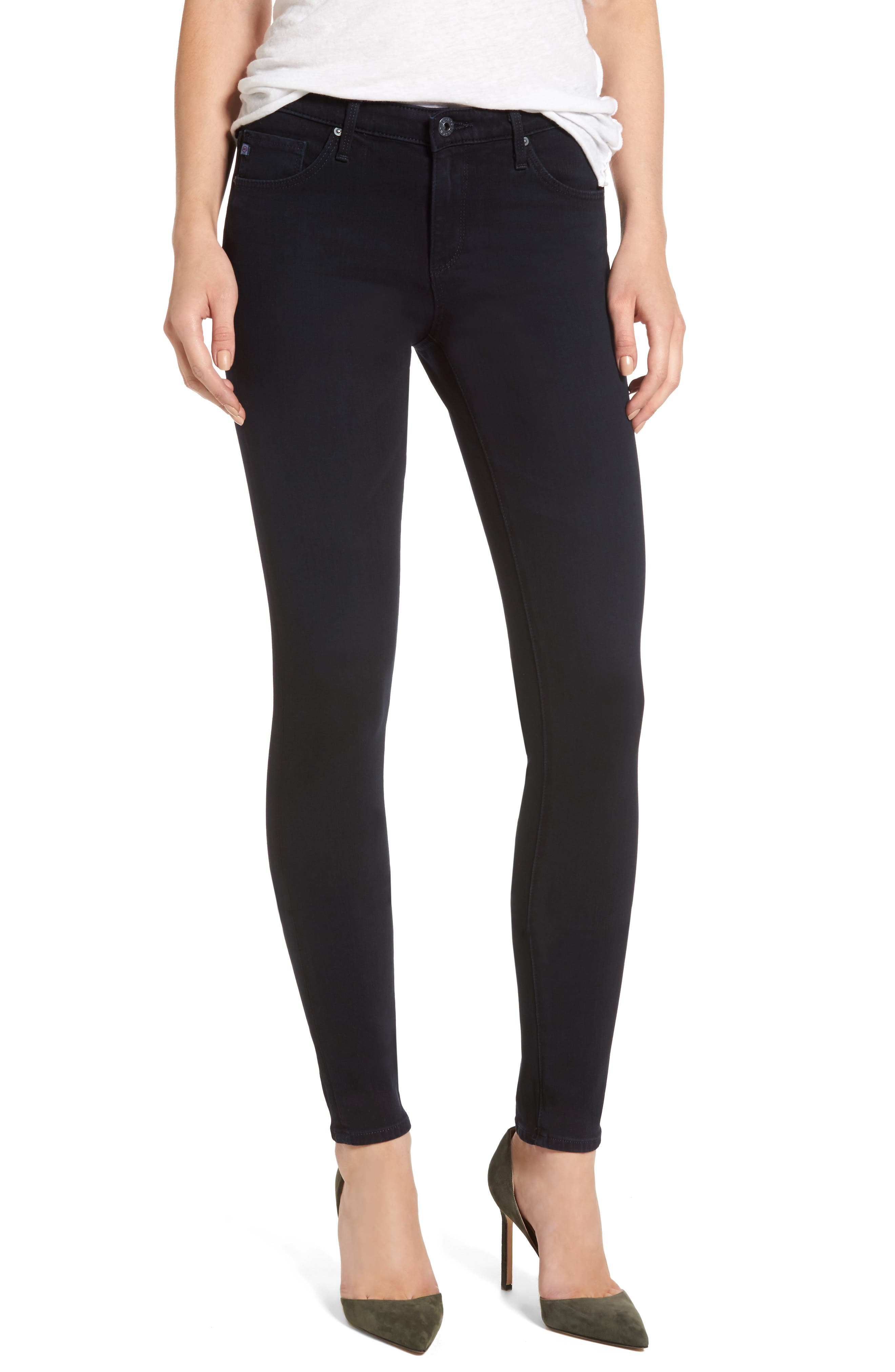 Main Image - AG The Legging Ankle Jeans (Rhode Blue)