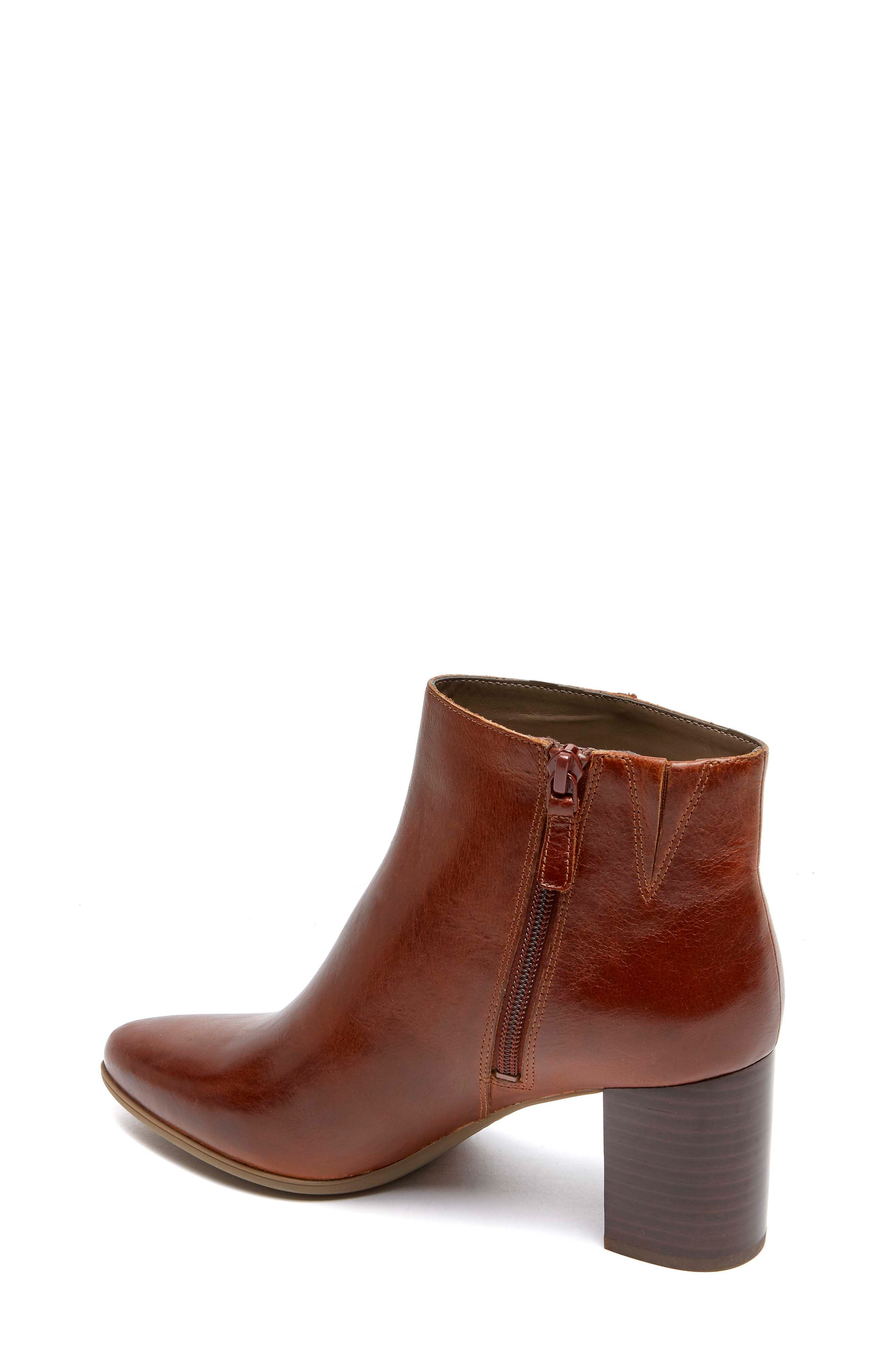 Lynix Luxe Bootie,                             Alternate thumbnail 2, color,                             Saddle Leather