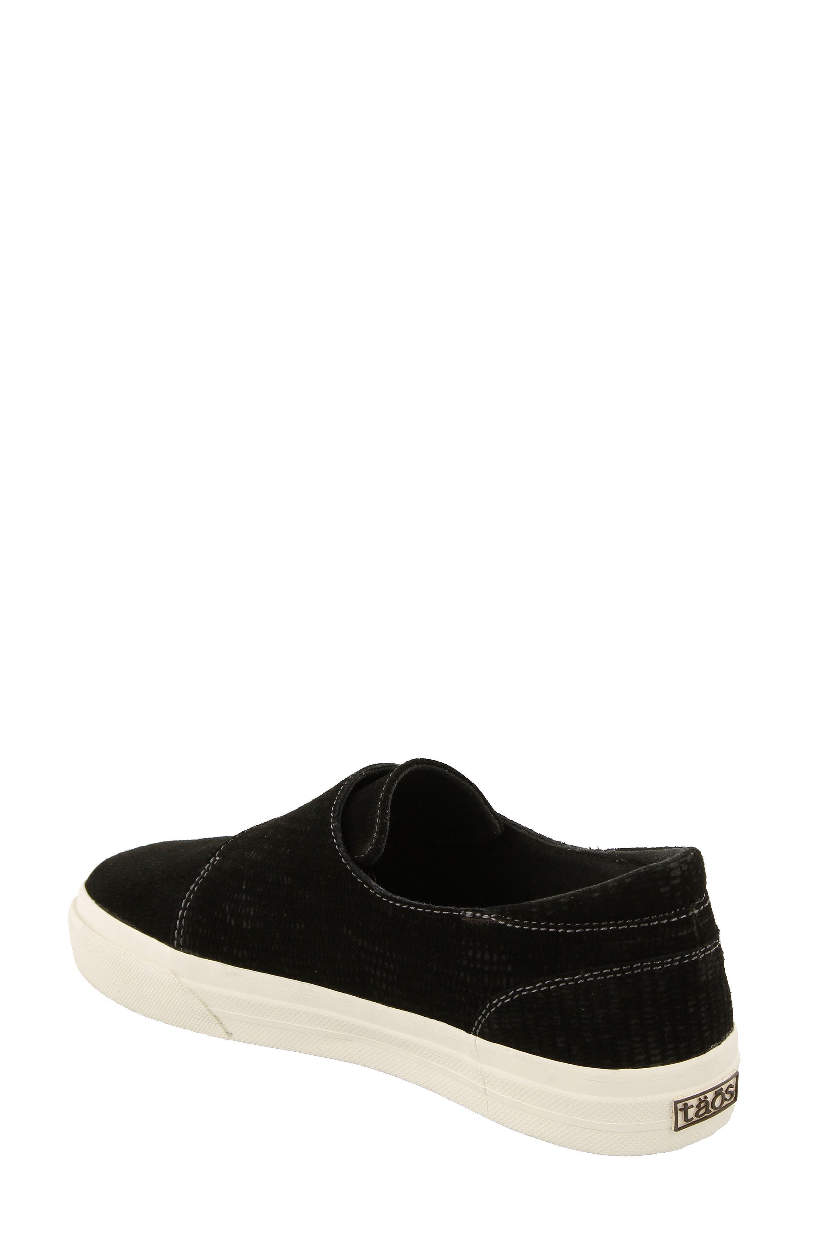 Soul Sneaker,                             Alternate thumbnail 2, color,                             Black Emboss Suede