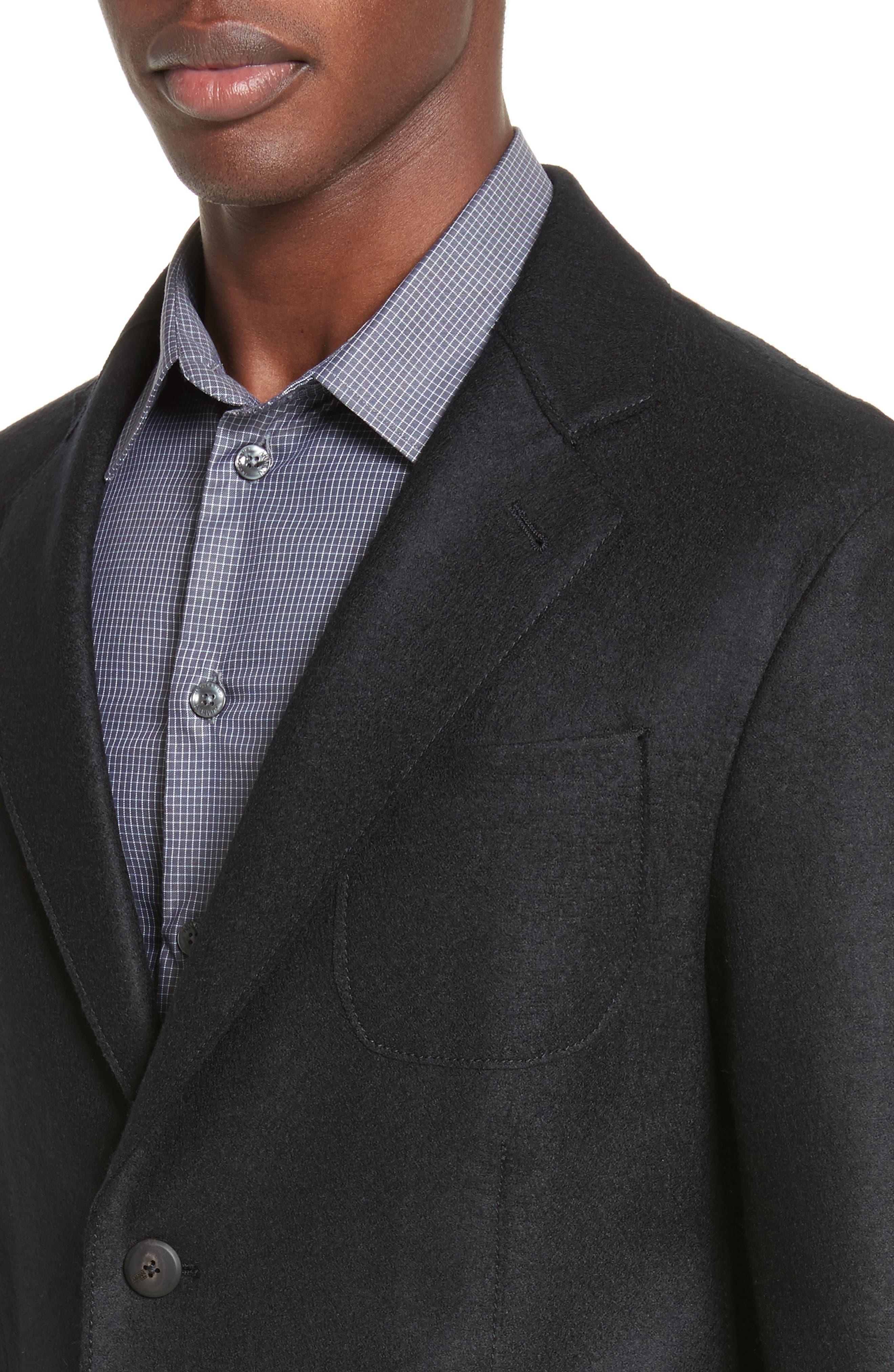 Alternate Image 4  - Armani Collezioni Regular Fit Jersey Sport Coat