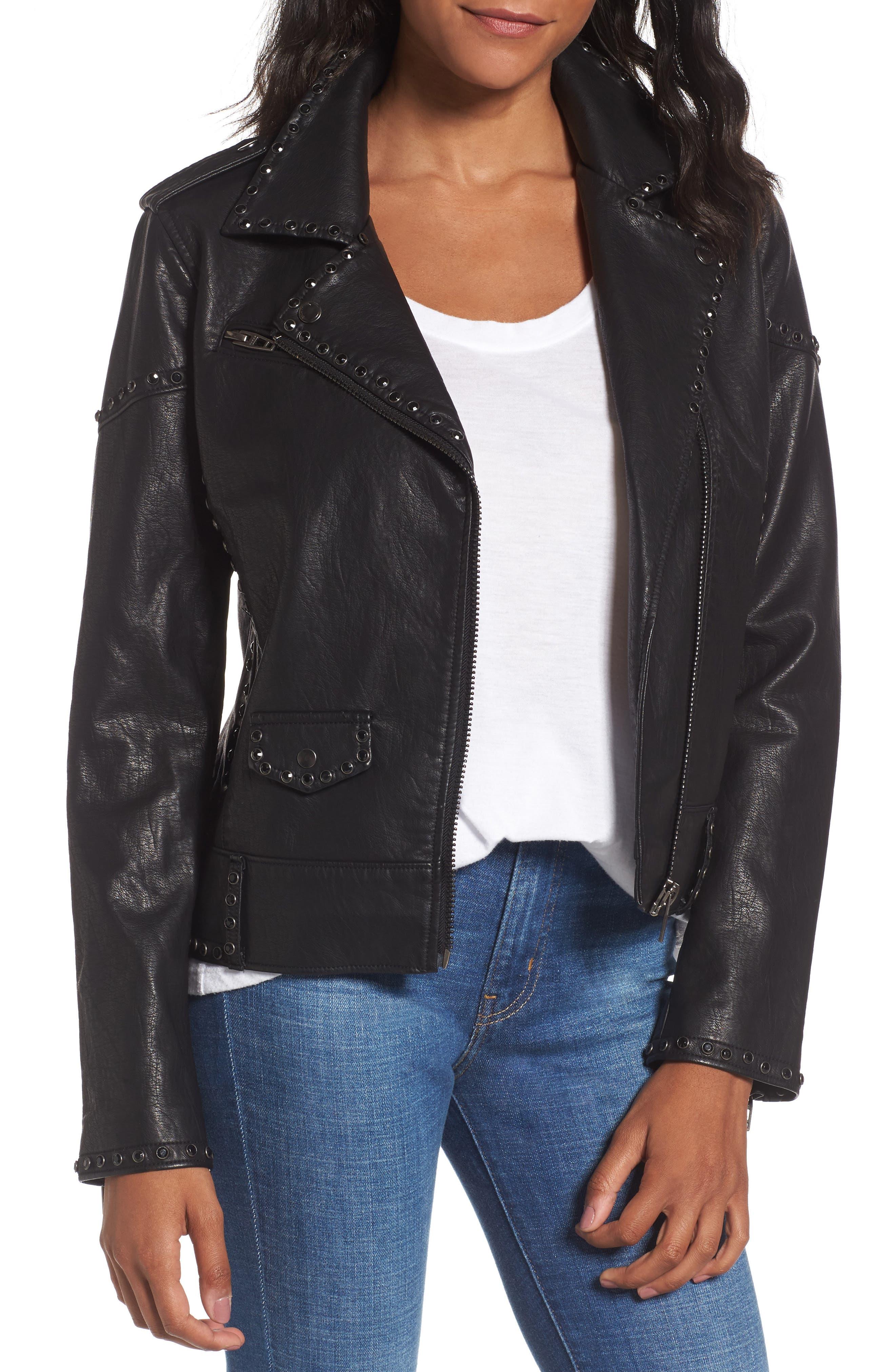 BLANKNYC Icebreaker Faux Leather Jacket