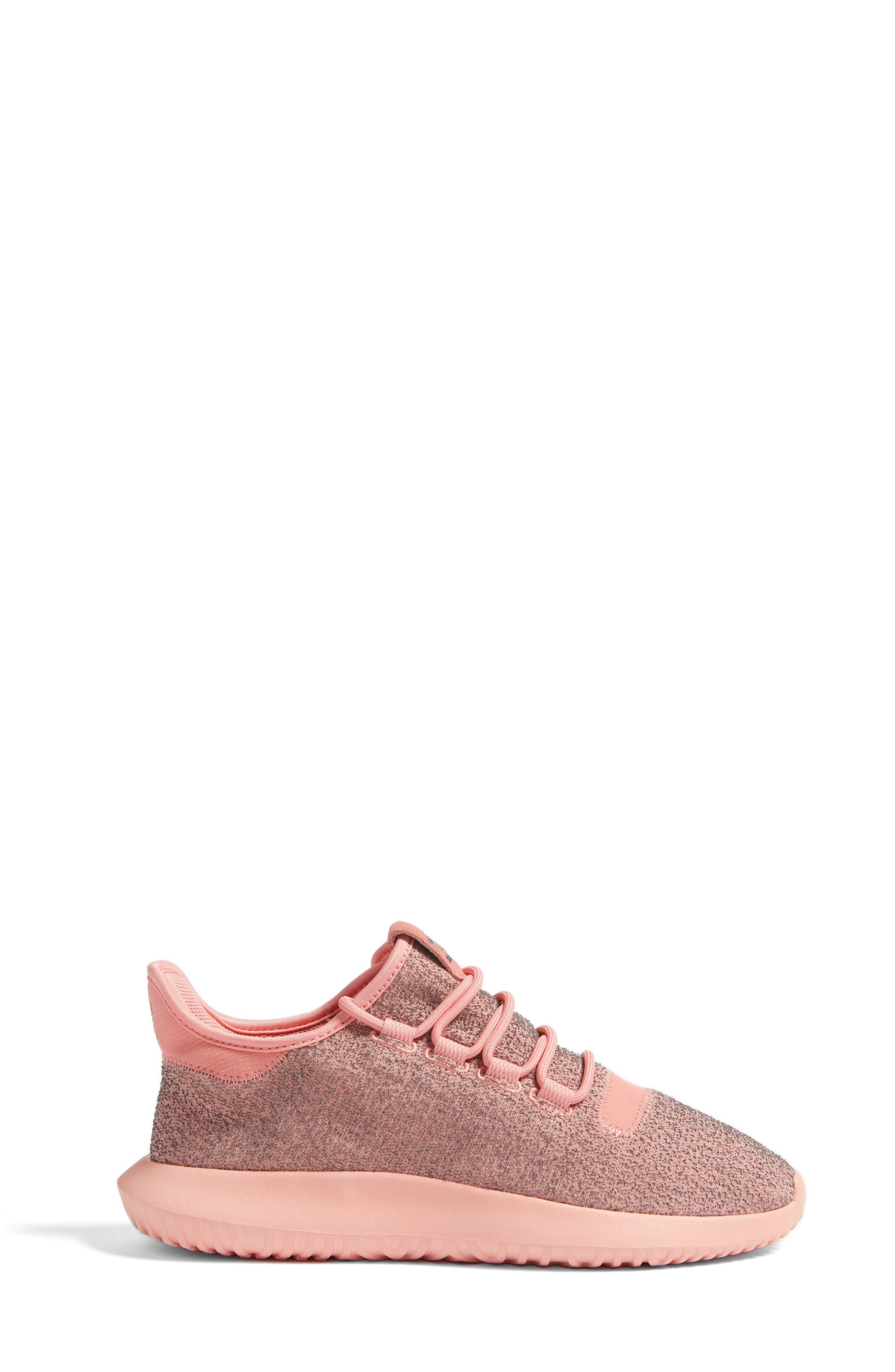 Tubular Shadow Sneaker,                             Alternate thumbnail 3, color,                             Raw Pink/ Raw Pink