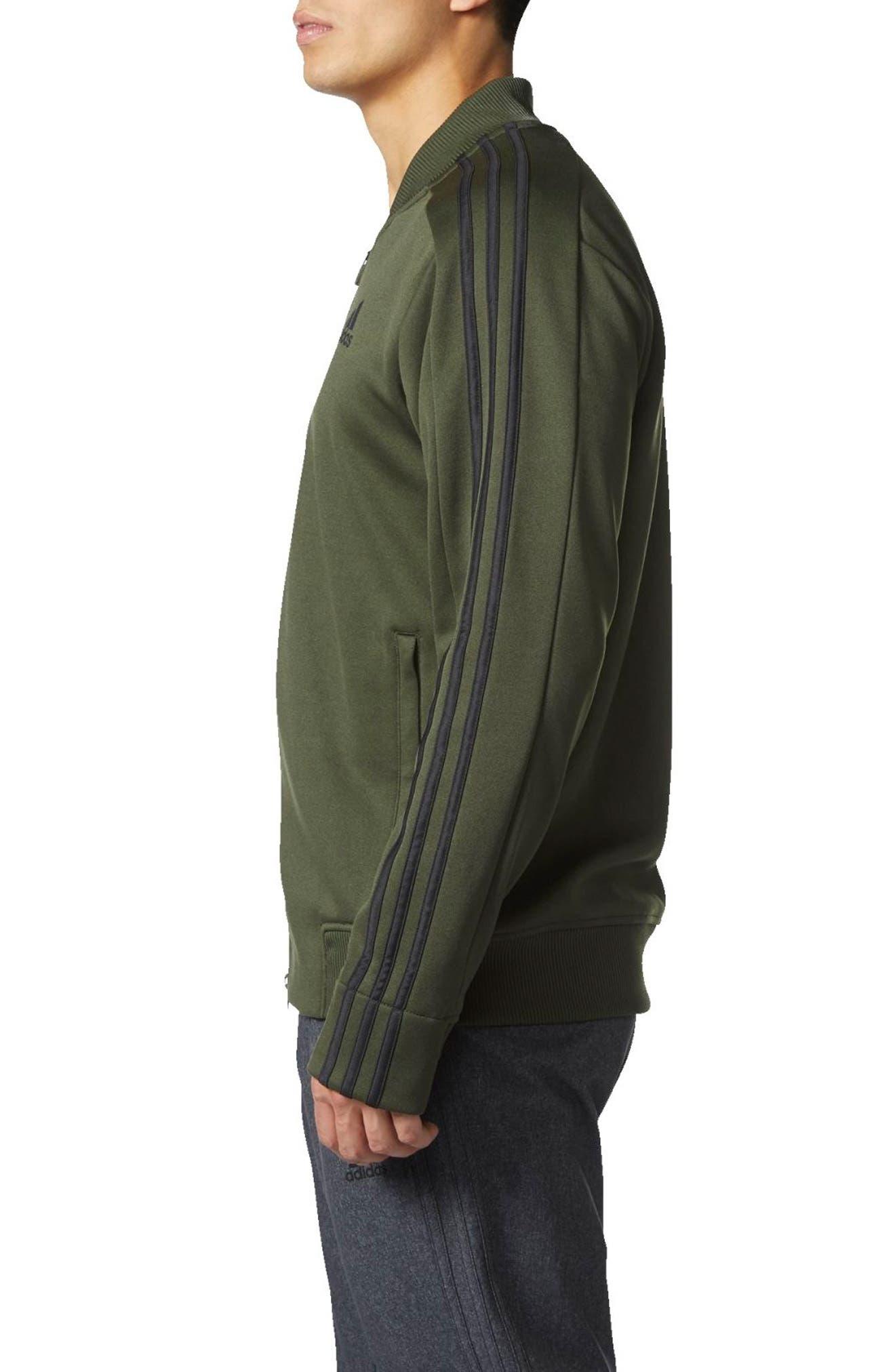 Alternate Image 3  - adidas Sport ID Track Bomber Jacket