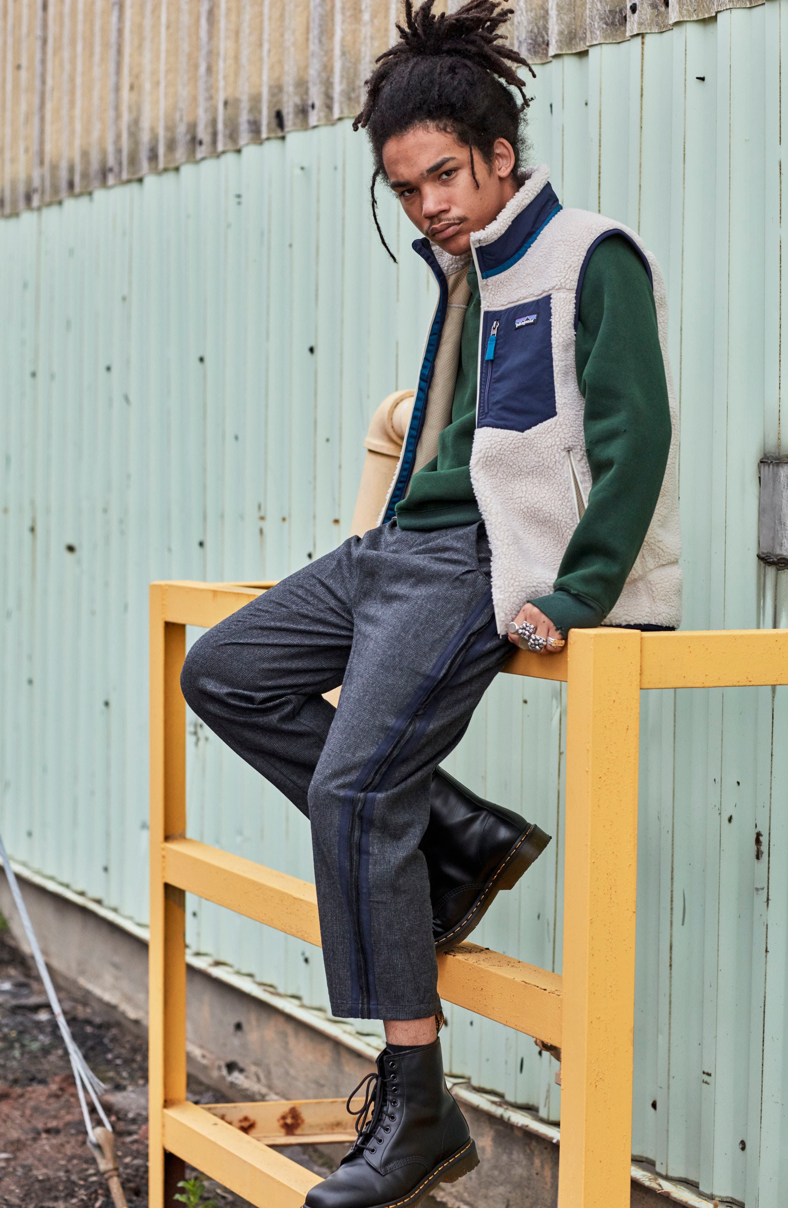 Alternate Image 7  - OVADIA & SONS Crewneck Sweater