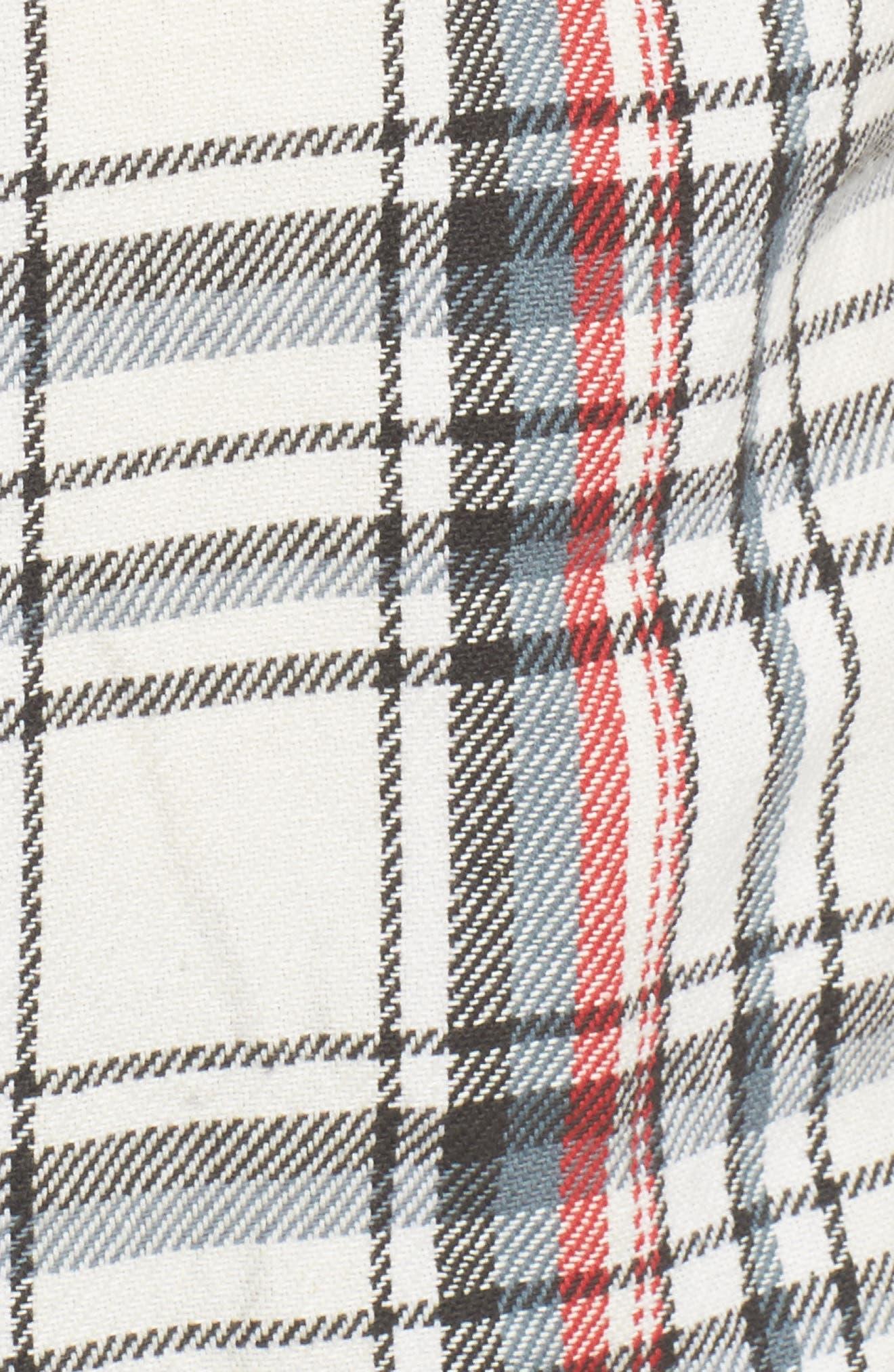 Alternate Image 5  - RVCA Camino Plaid Flannel Shirt