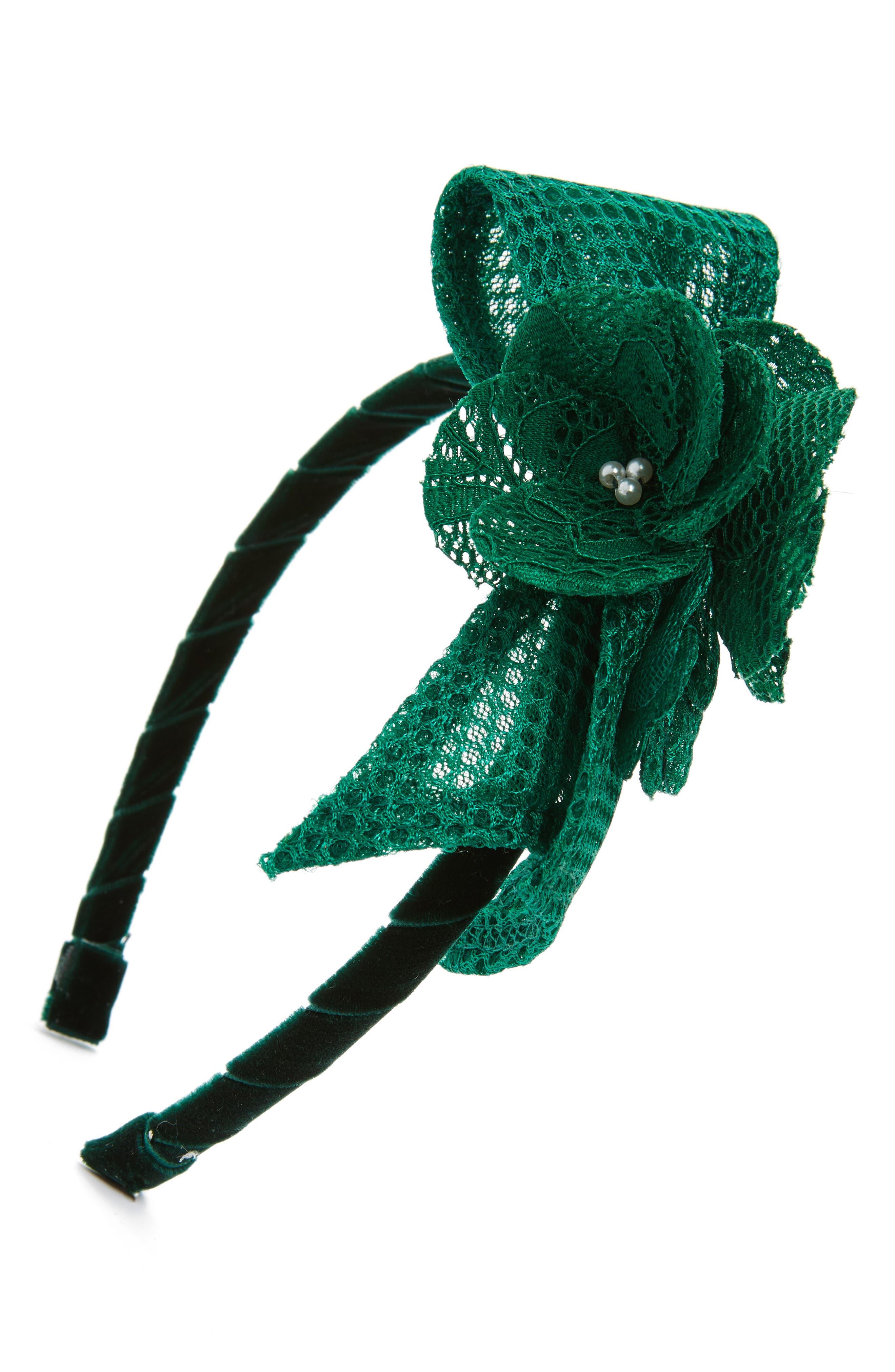 DAVID CHARLES Techno Flower Headband