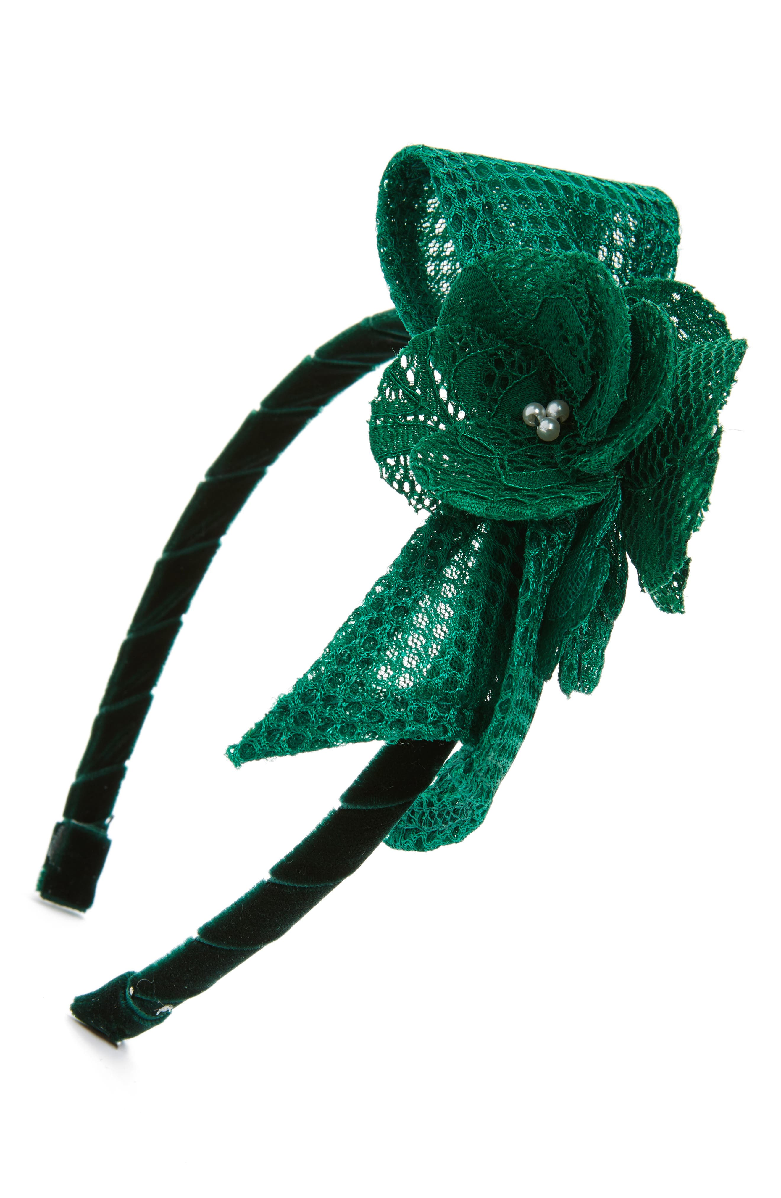 David Charles Techno Flower Headband (Girls)