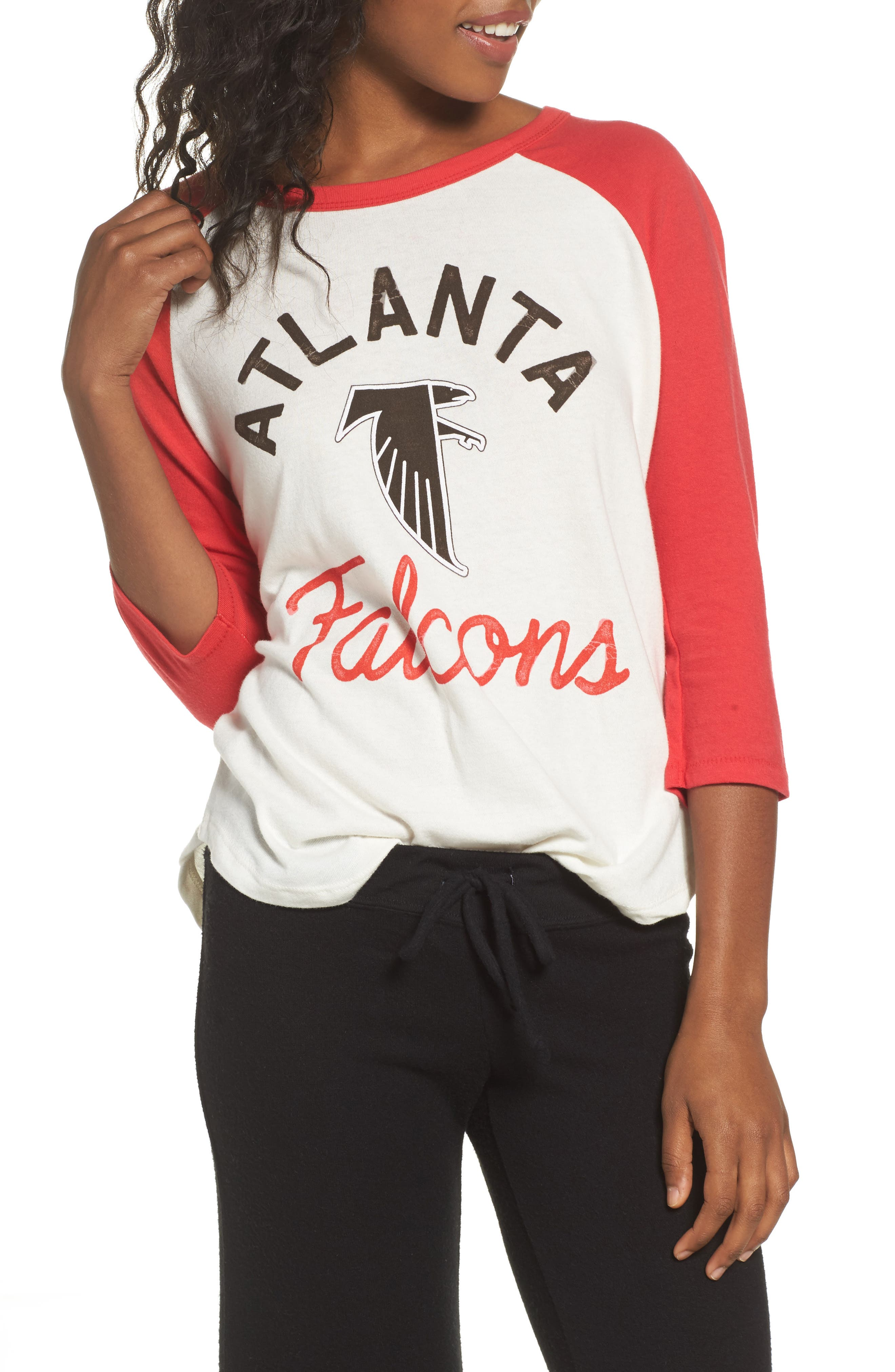 Main Image - Junk Food NFL Atlanta Falcons Raglan Tee