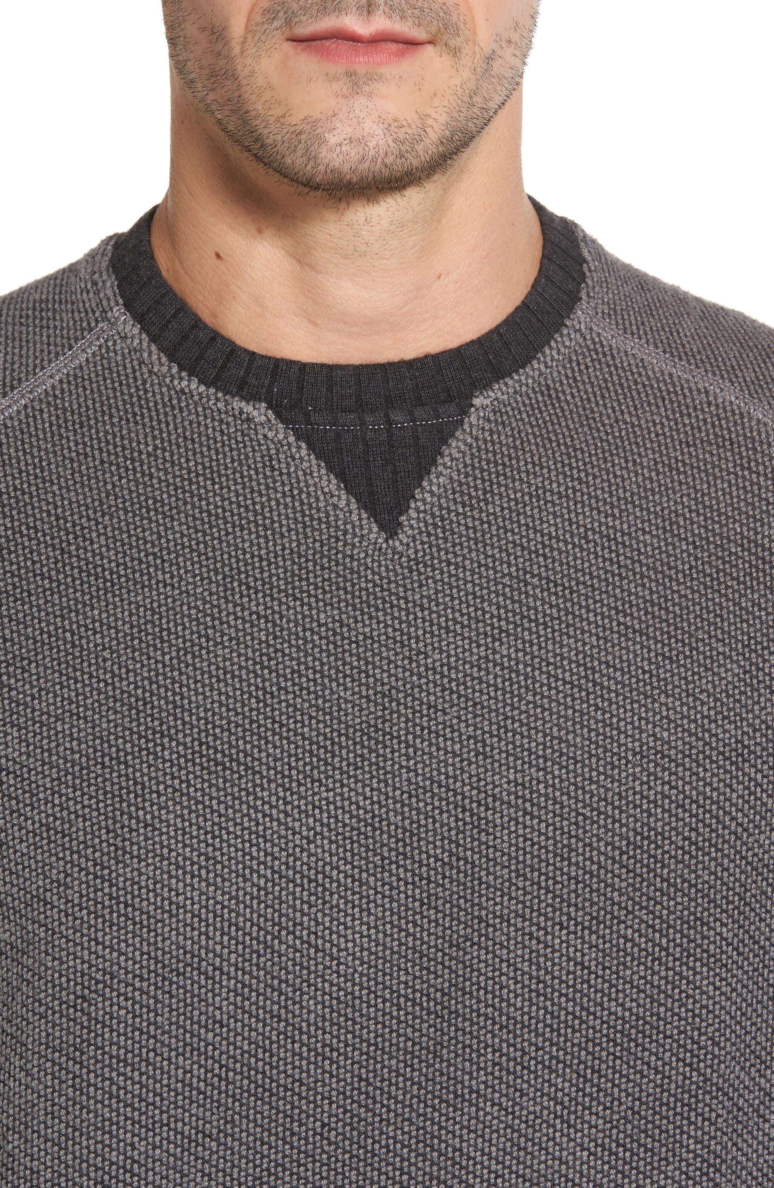 Alternate Image 4  - Tommy Bahama Surfari Crewneck Sweatshirt