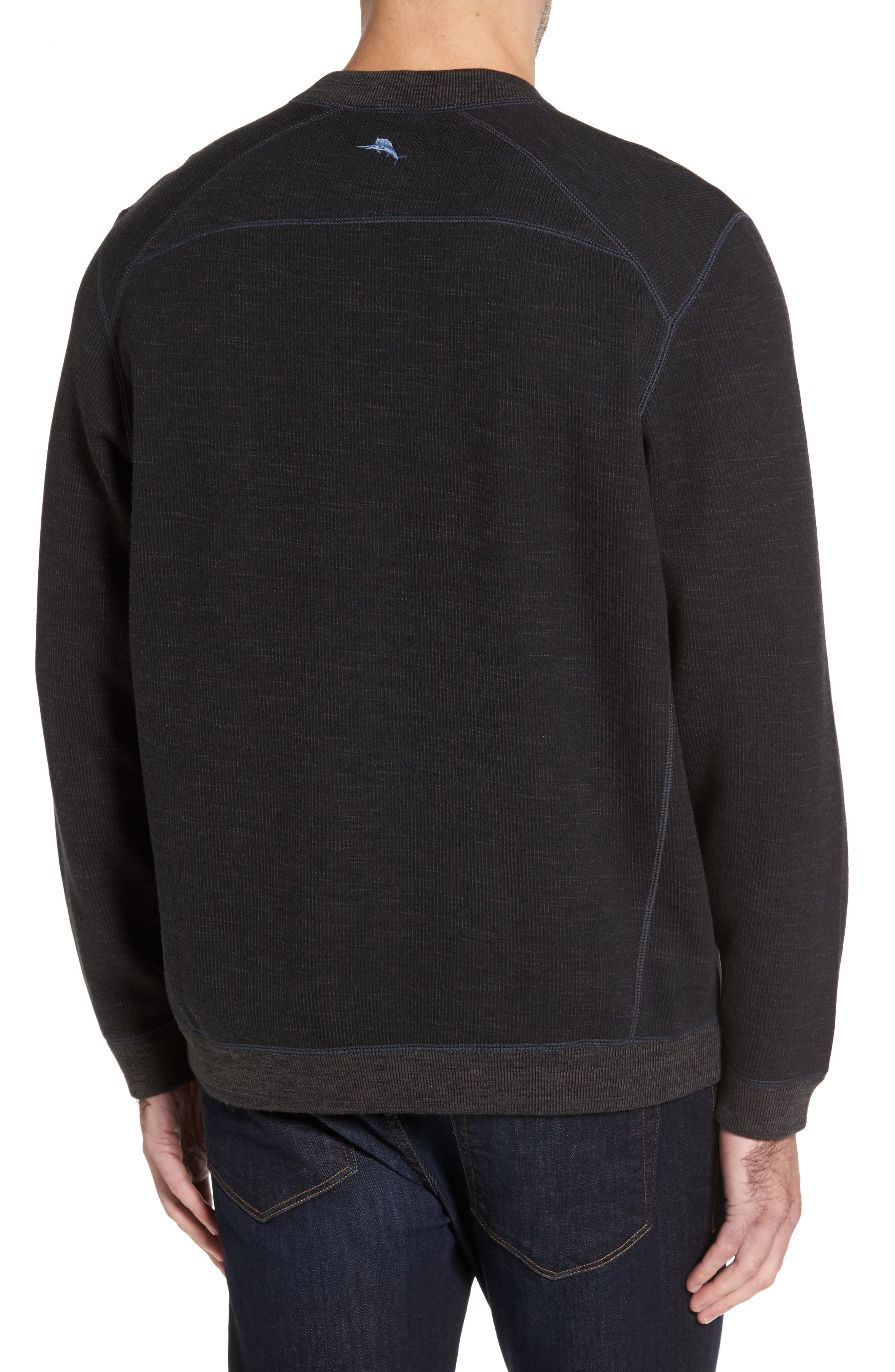 Flipsider Abaco Pullover,                             Alternate thumbnail 3, color,                             Black