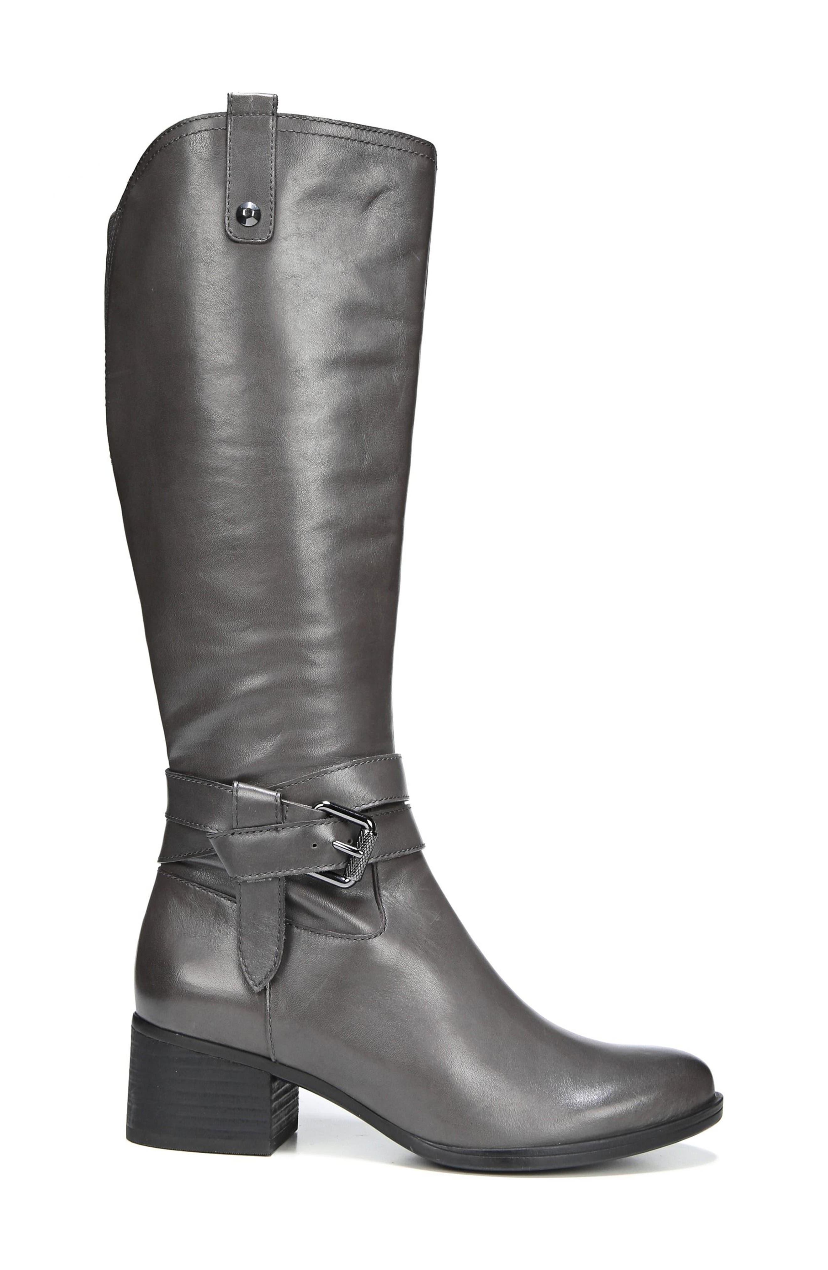 Alternate Image 3  - Naturalizer Dev Buckle Strap Boot (Women) (Regular & Wide Calf)