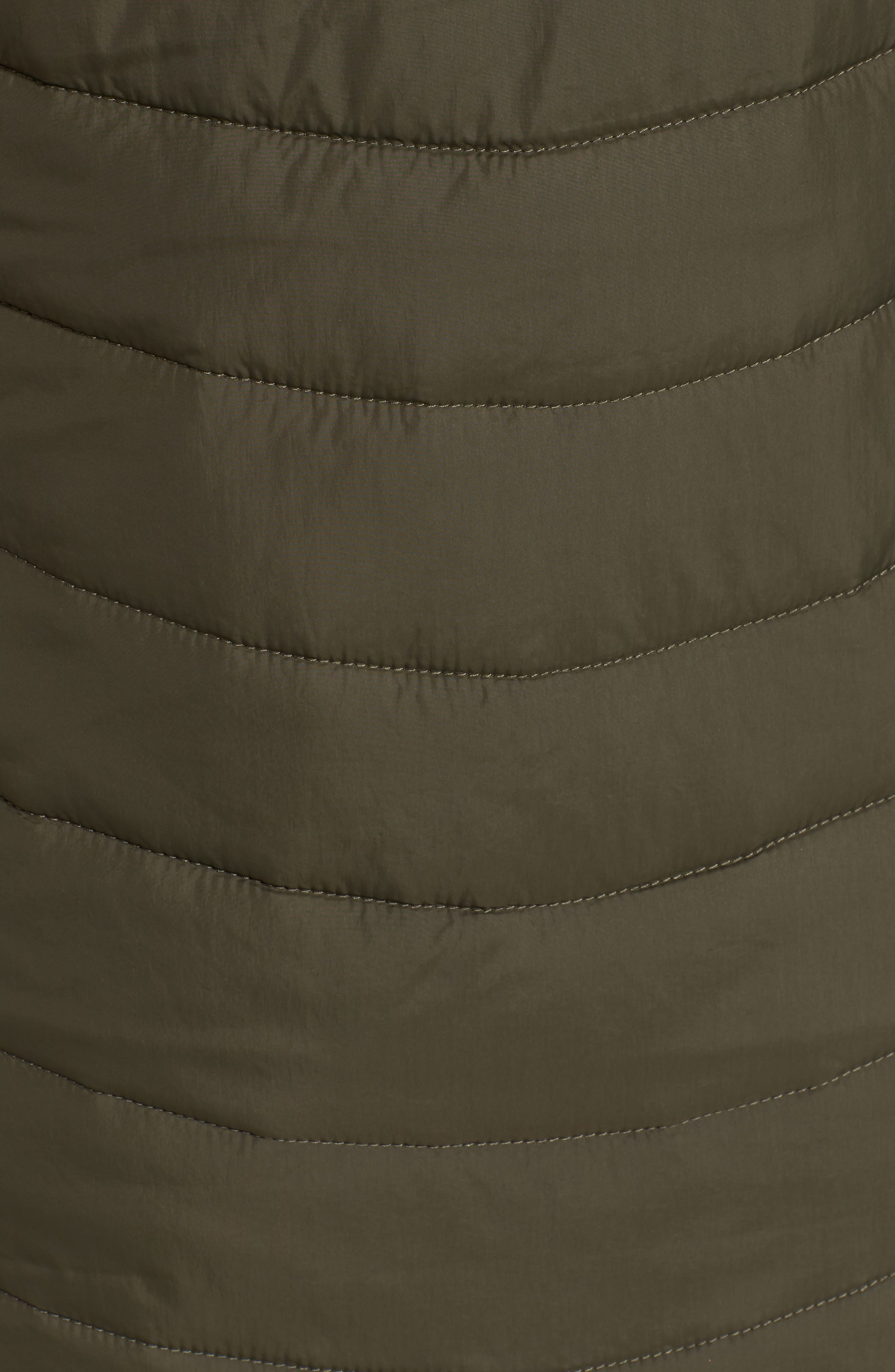 Harway Heatseeker<sup>™</sup> Water-Resistant Jacket with Faux Fur Trim,                             Alternate thumbnail 6, color,                             New Taupe Green