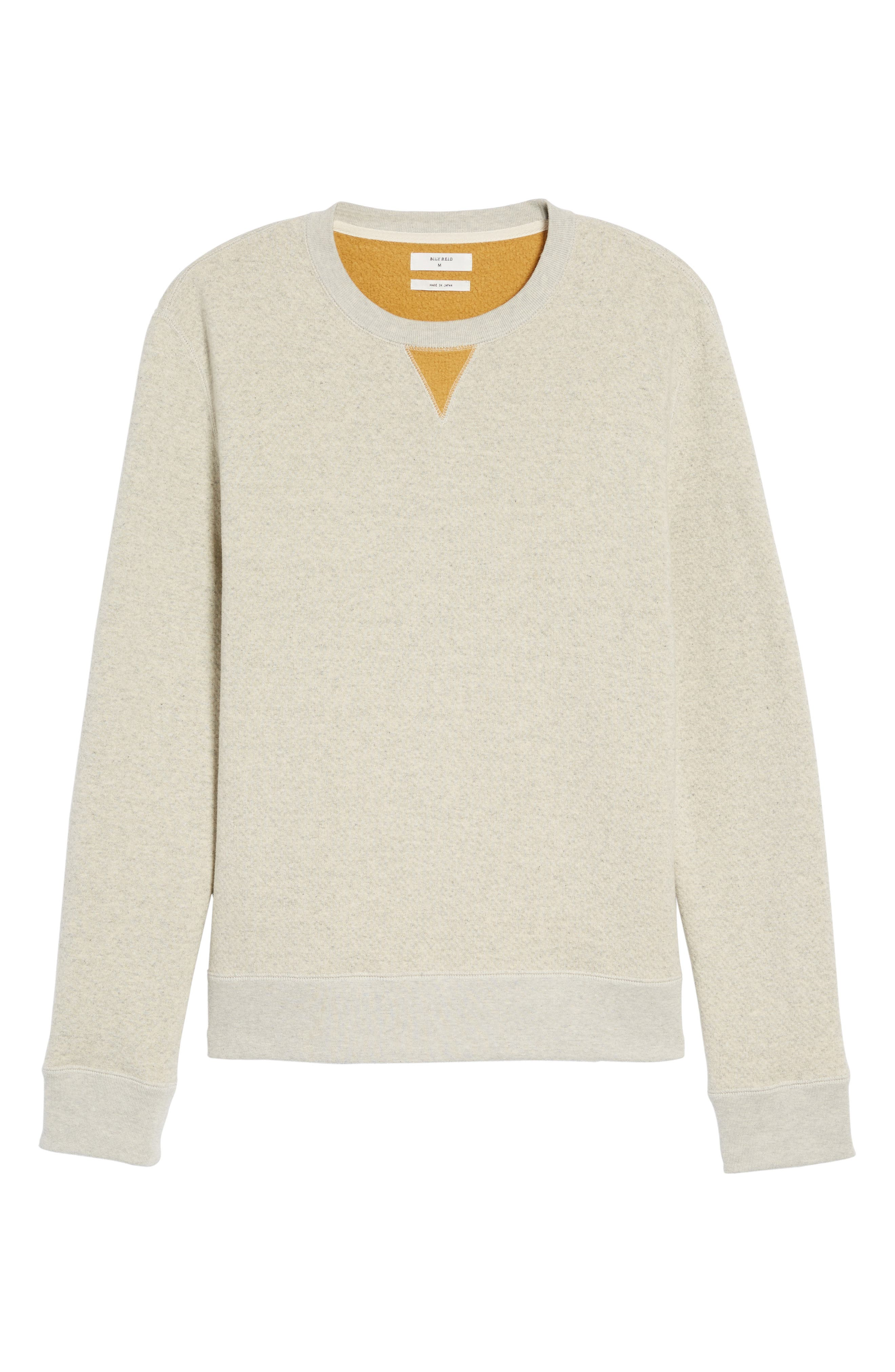Alternate Image 6  - Billy Reid Cotton Fleece Sweatshirt